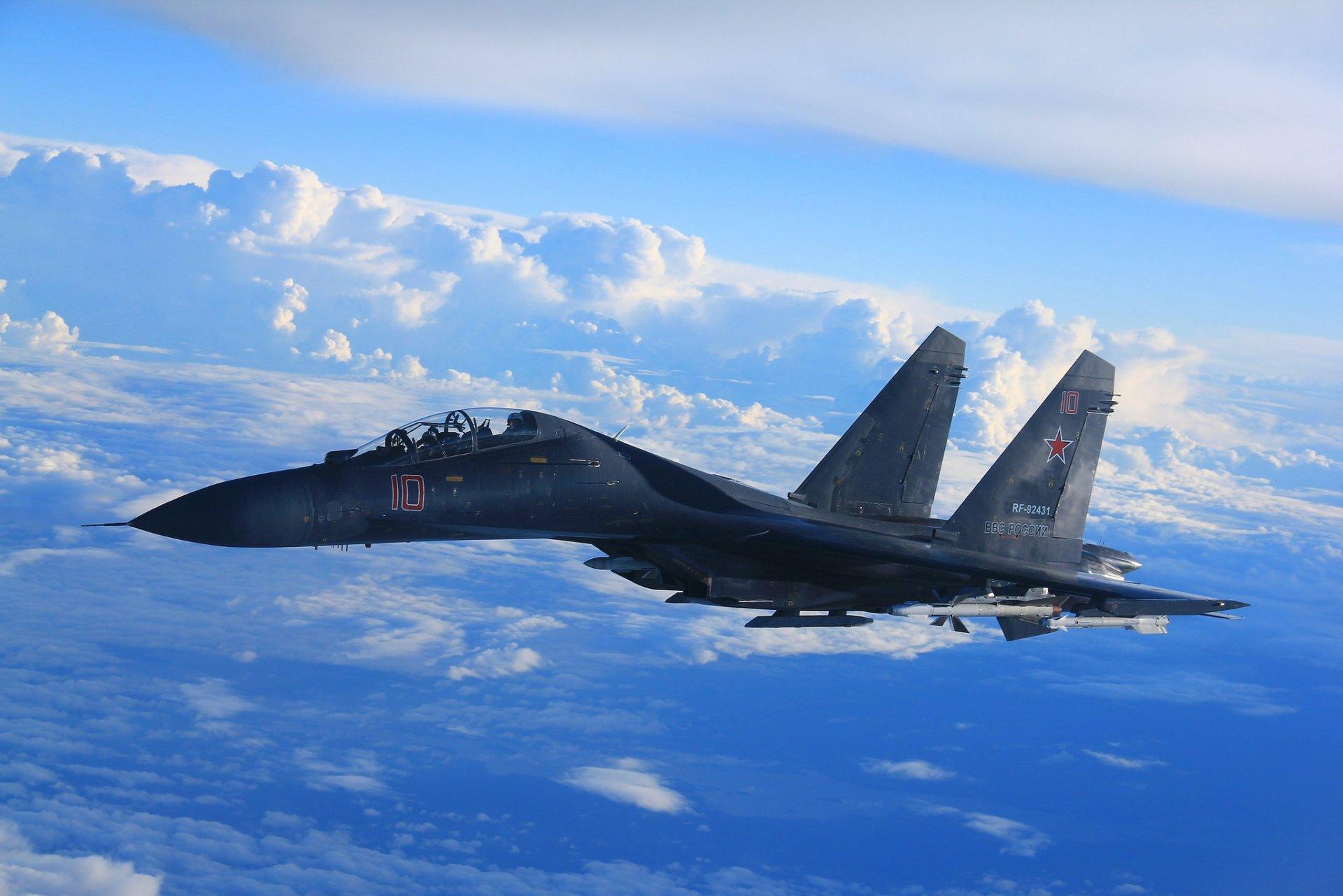 Обои сверхманевренный, Самолёт, многоцелевой, Su-35. Авиация foto 14