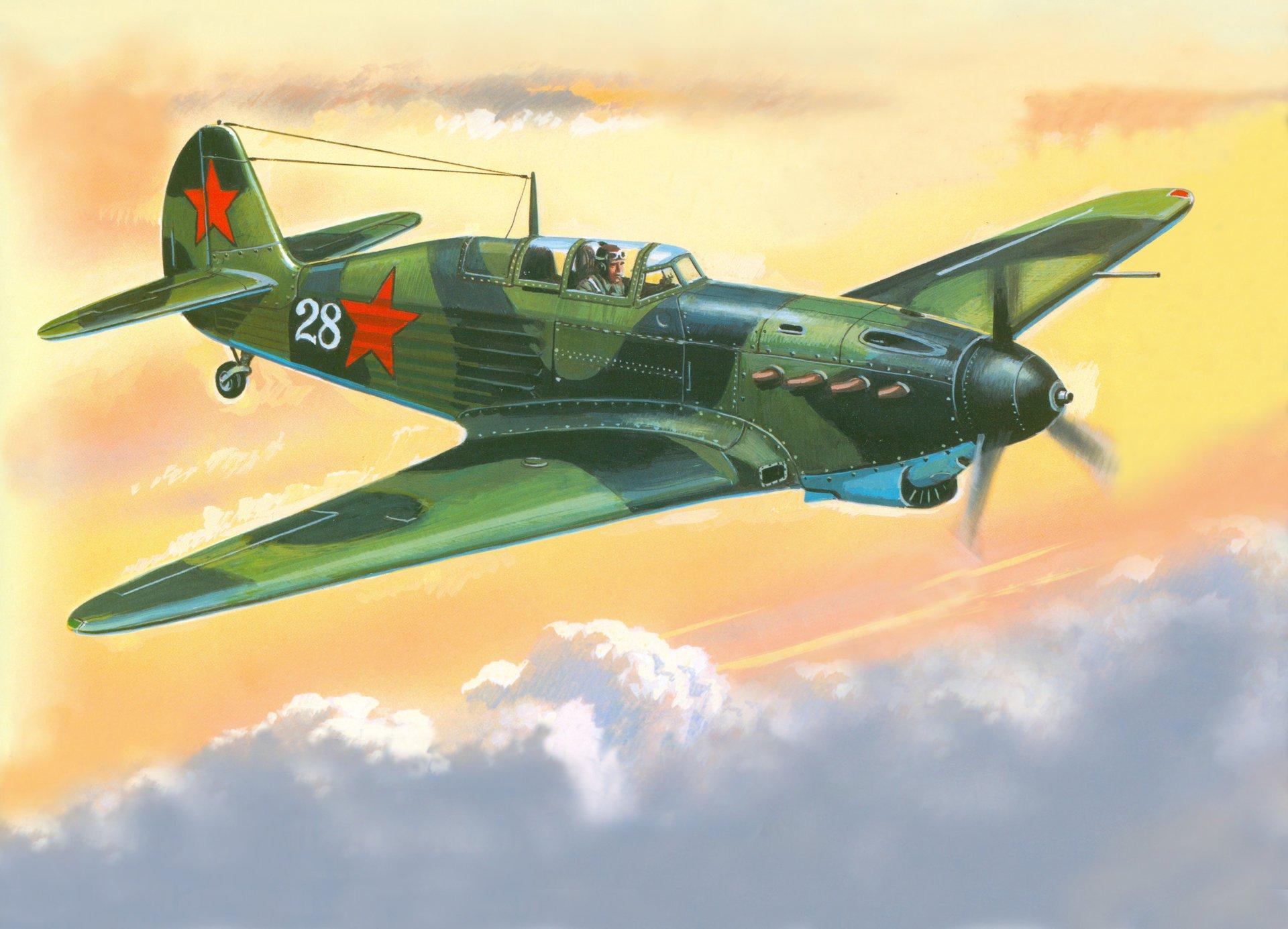 Самолёт великой отечественной войны рисунок