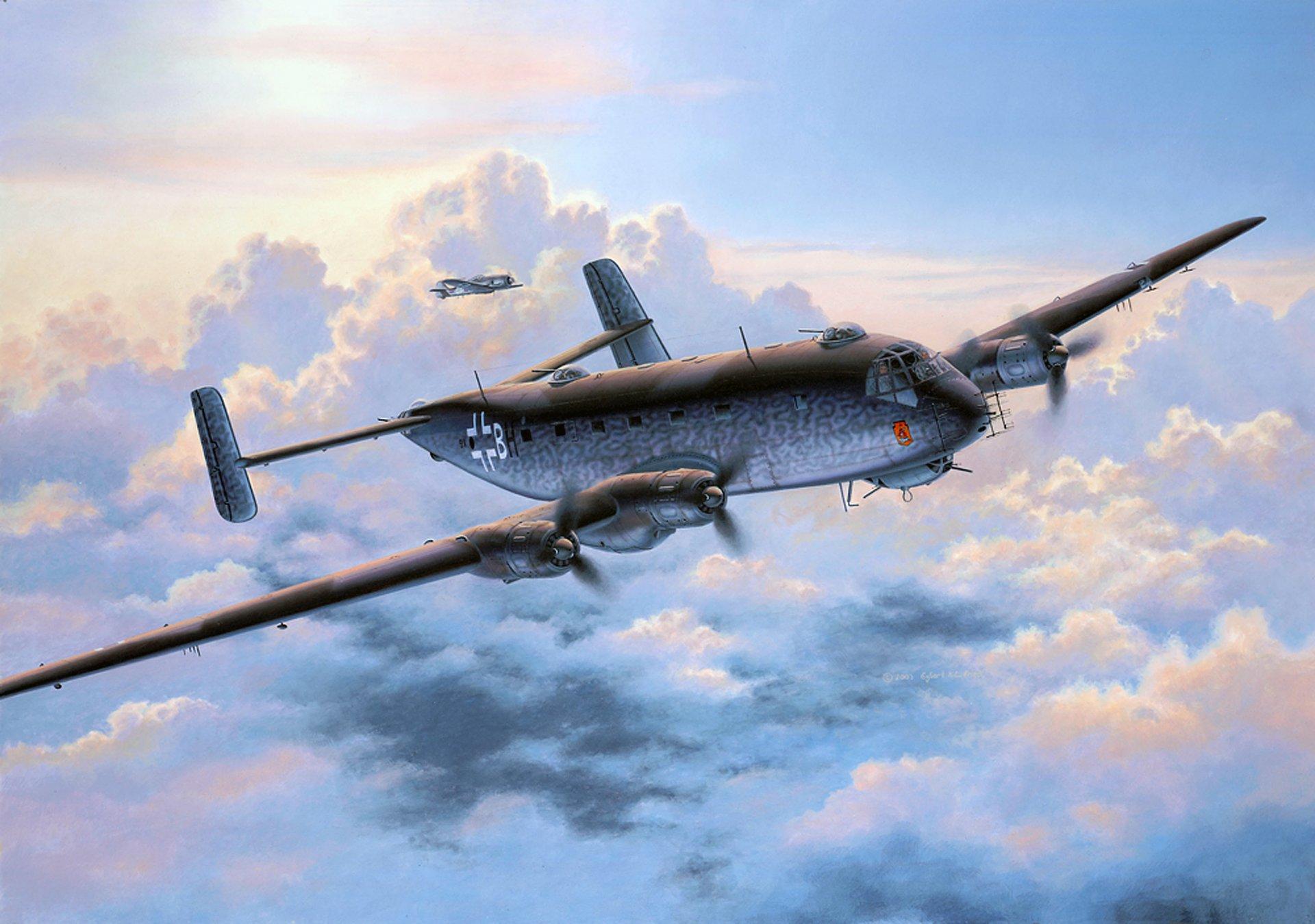 Обои война, сражение, сбитый юнкерс, рисунок. Авиация foto 14