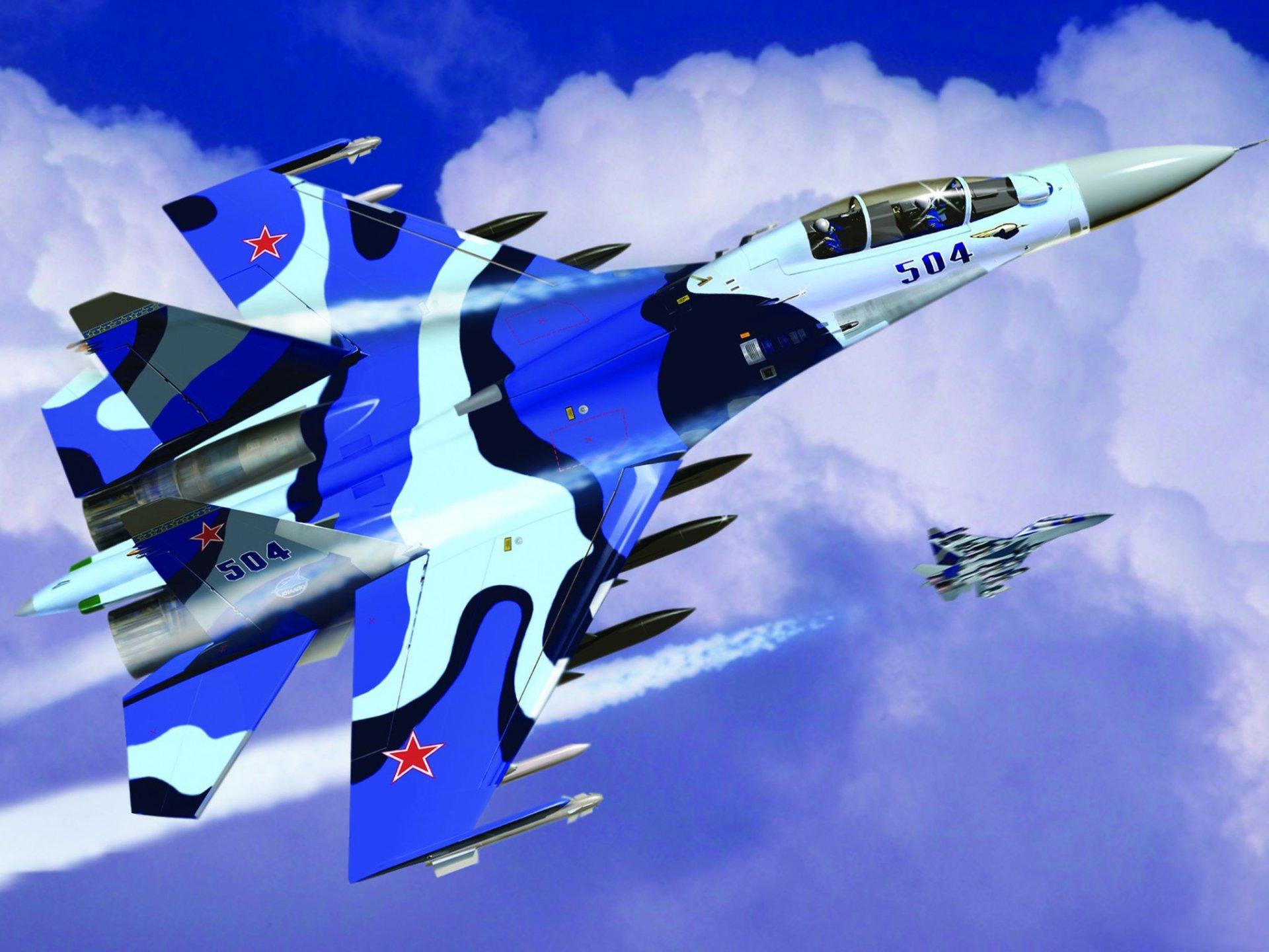 Обои двухместный, многоцелевой, российский. Авиация foto 12