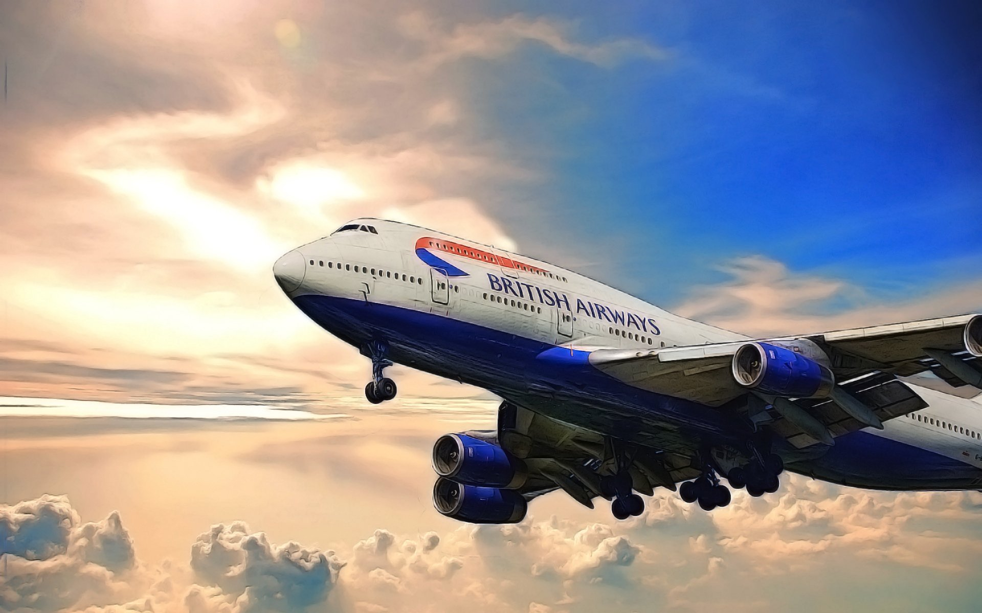 Обои 8, Самолёт, люфтганза, Lufthansa, 747, boeing, боинг, пассажирский. Авиация foto 13