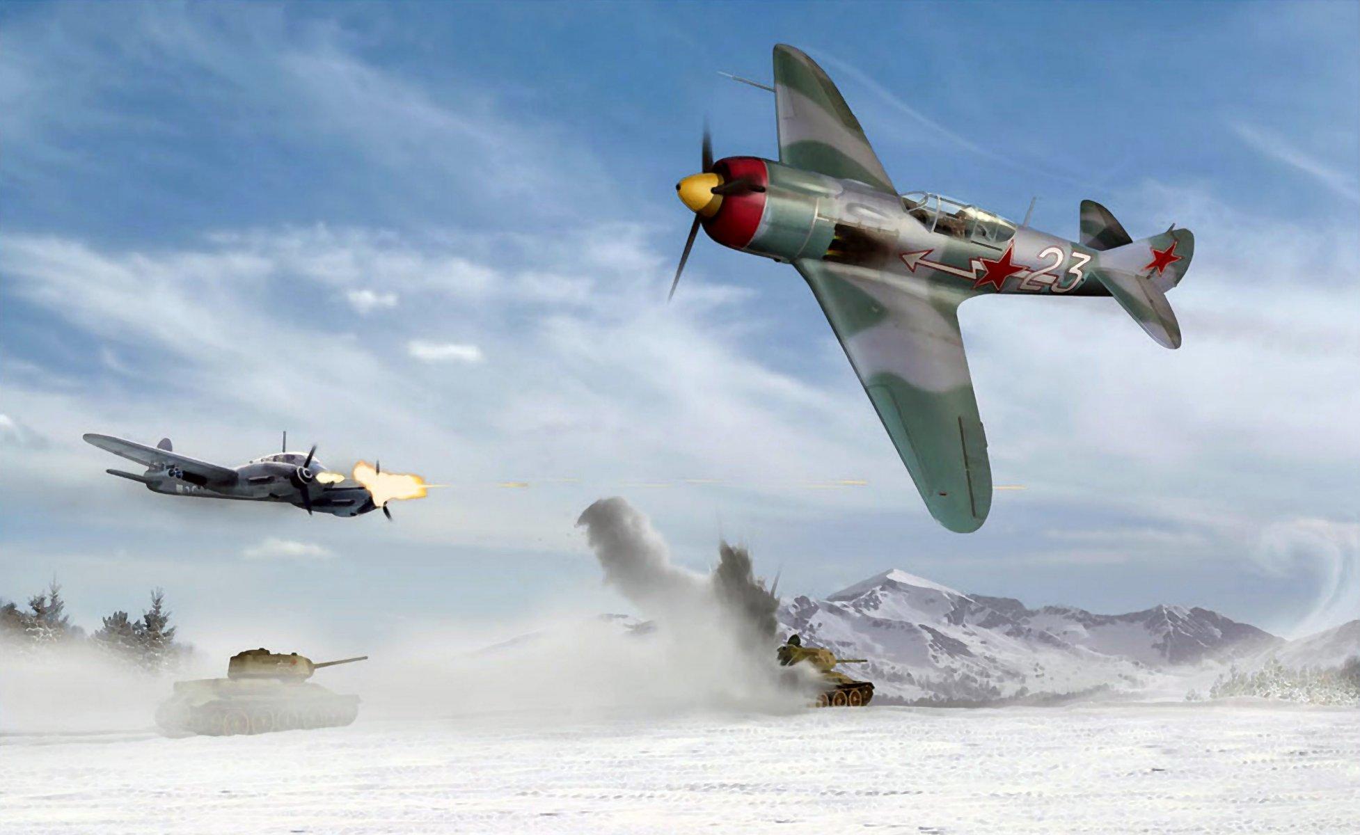 Обои земля, Облака, битва, самолеты, война. Авиация foto 16
