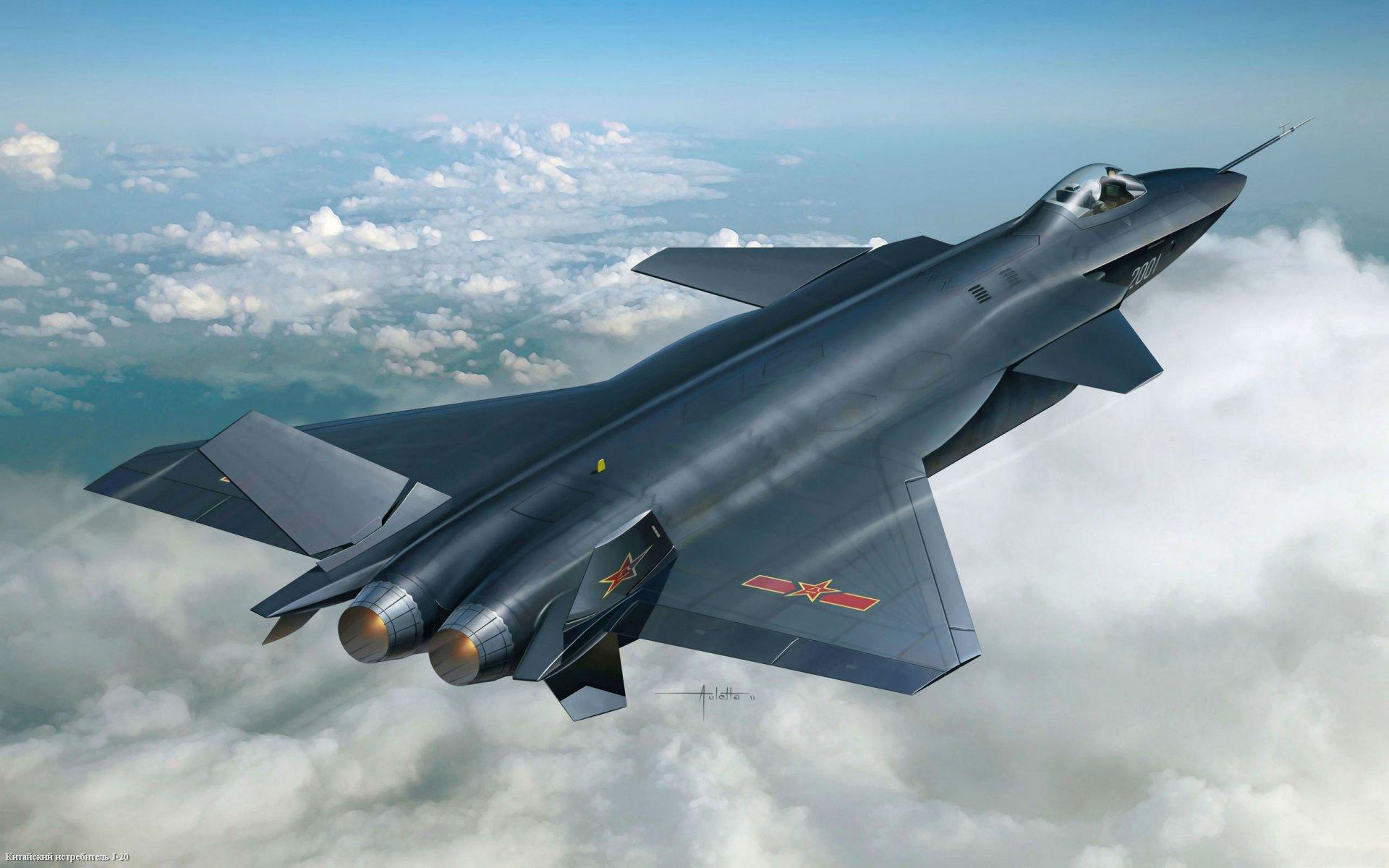 Обои j-20, Самолёт, ввс, истребитель, китайский. Авиация foto 6