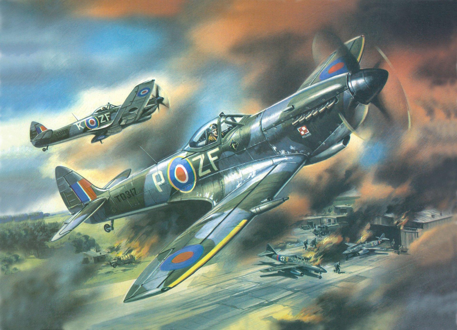 Обои bf-109f-2/u2, воздушный, самолеты. Авиация foto 10