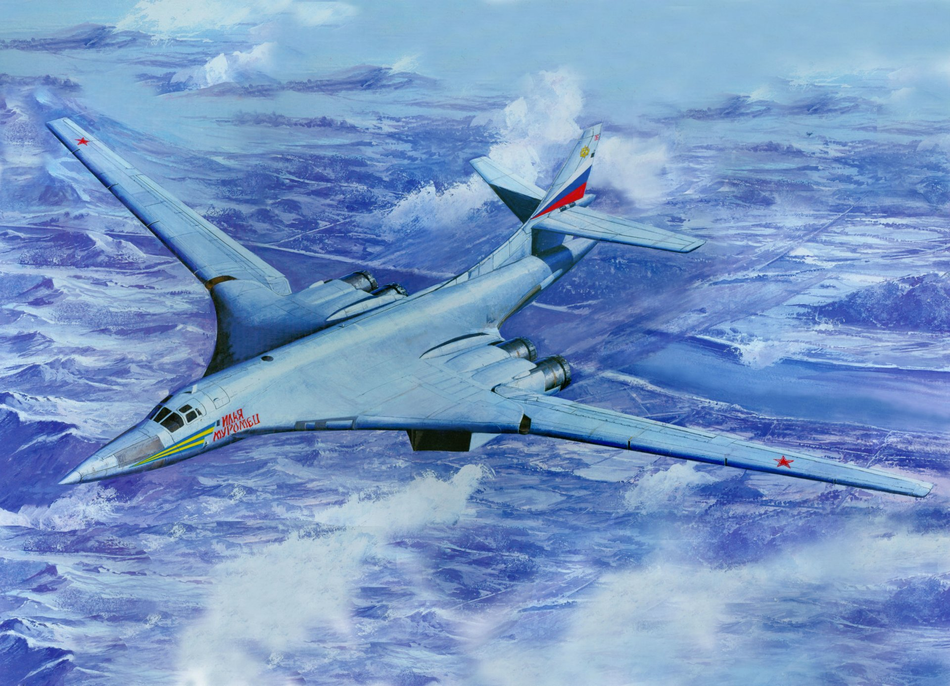 Обои бомбардировщик, Самолёт. Авиация foto 18