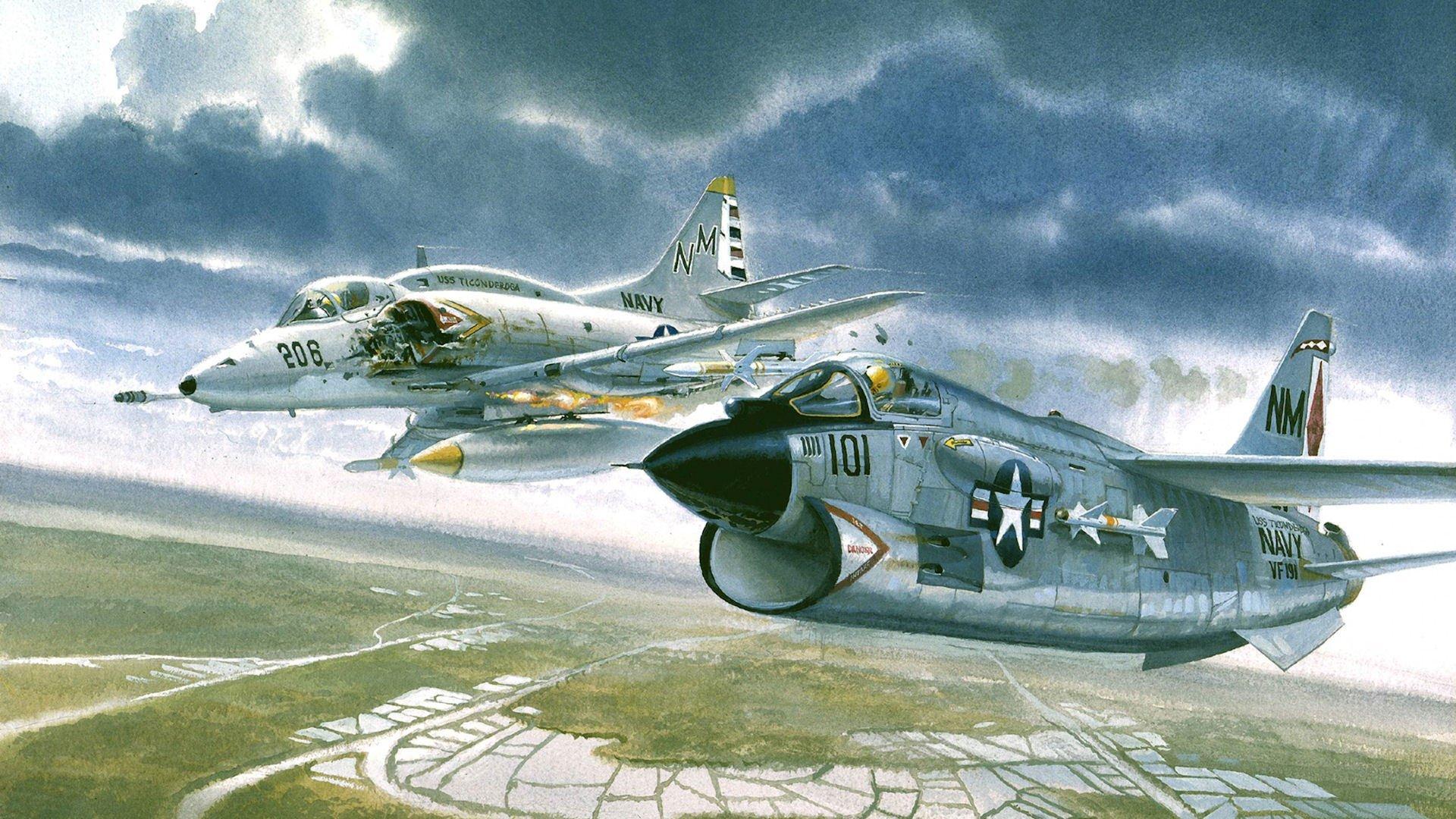 Обои истребитель, «корсар», Fg-1d, corsair. Авиация foto 18