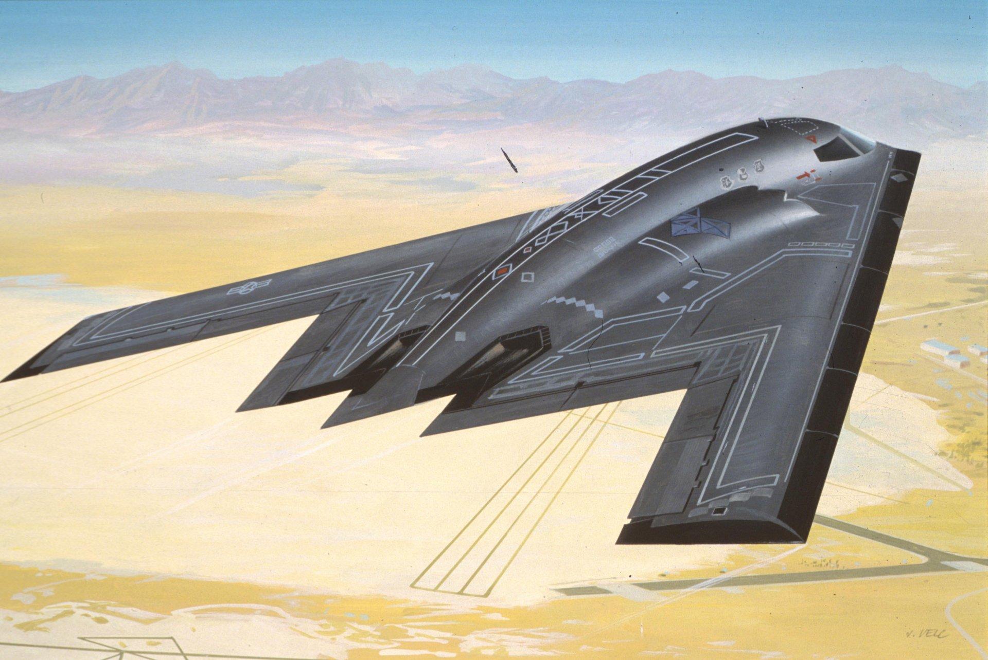 Обои бомбардировщик, Самолёт. Авиация foto 6