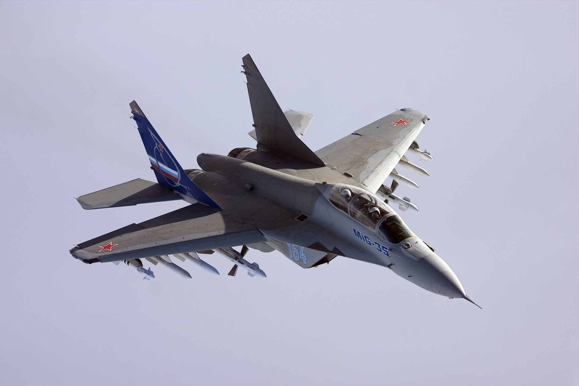 Обои Mig-35, истребитель, многоцелевой. Авиация foto 12