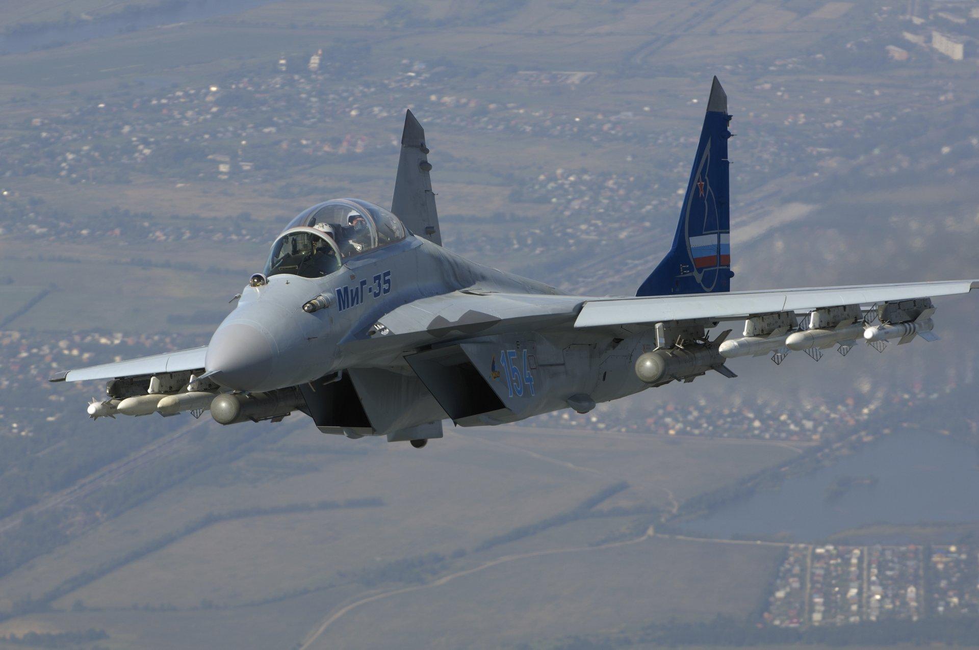 Обои МиГ 35, россия. Авиация foto 19