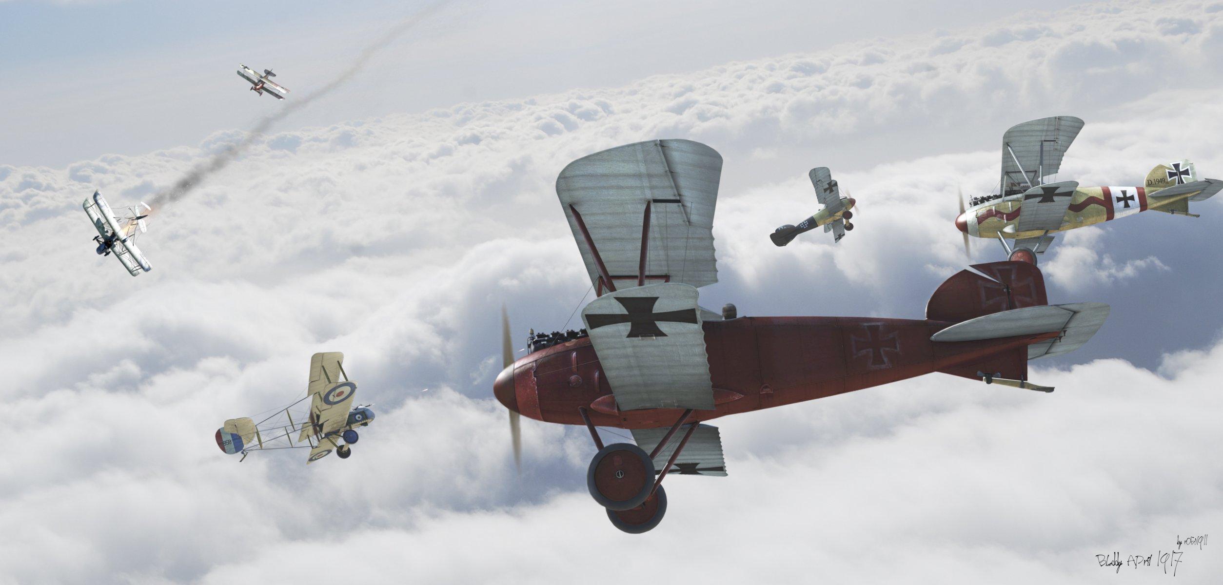 Обои земля, Облака, битва, самолеты, война. Авиация foto 14