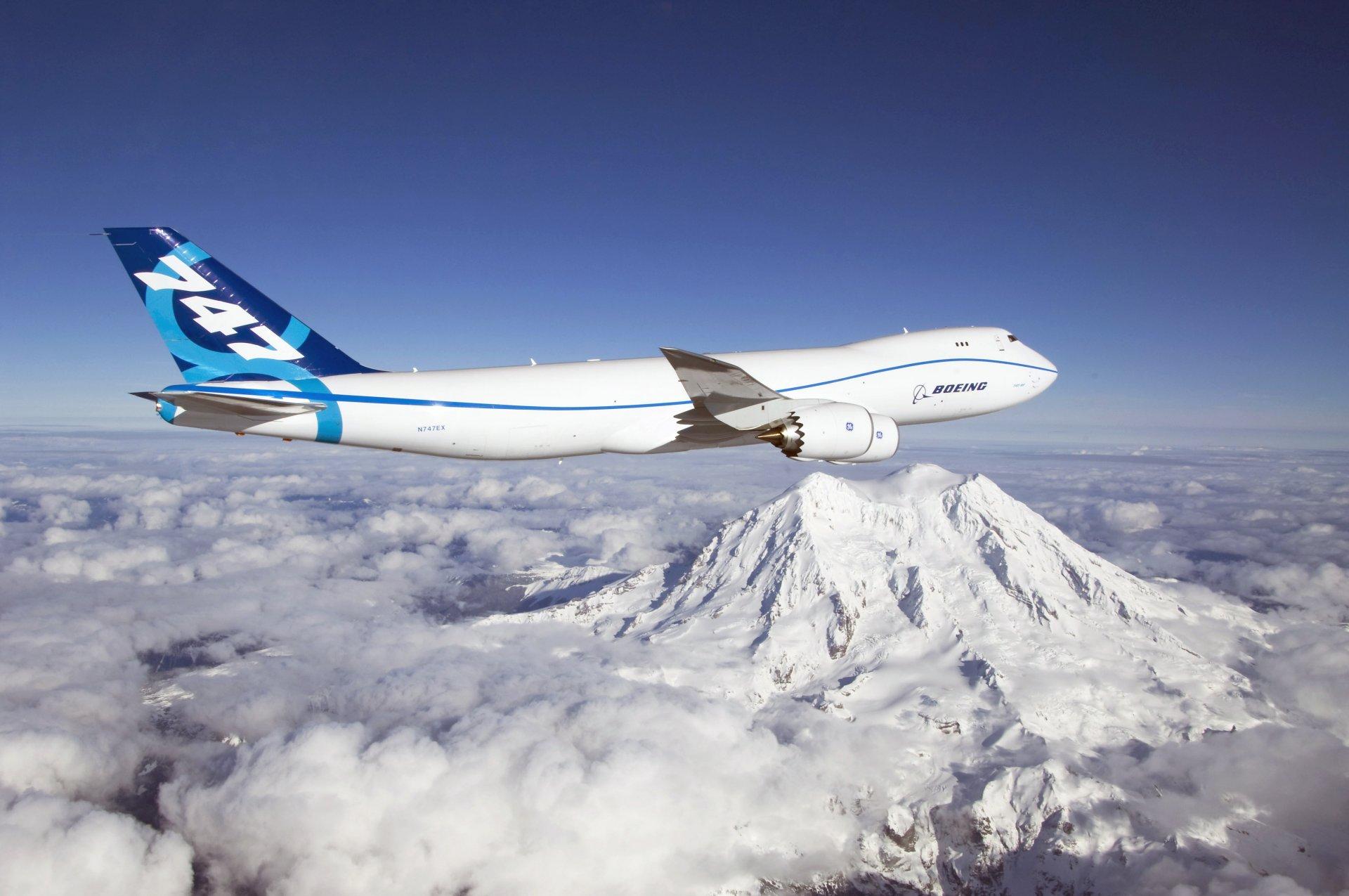 Обои Япония, ночь, Самолёт, Боинг 747. Авиация foto 17
