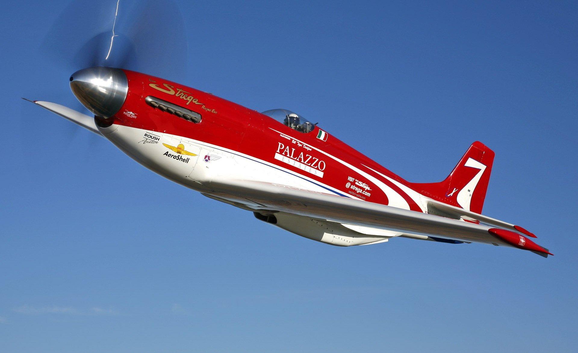 Обои С2, спортивный самолёт, краснобелый. Авиация foto 6