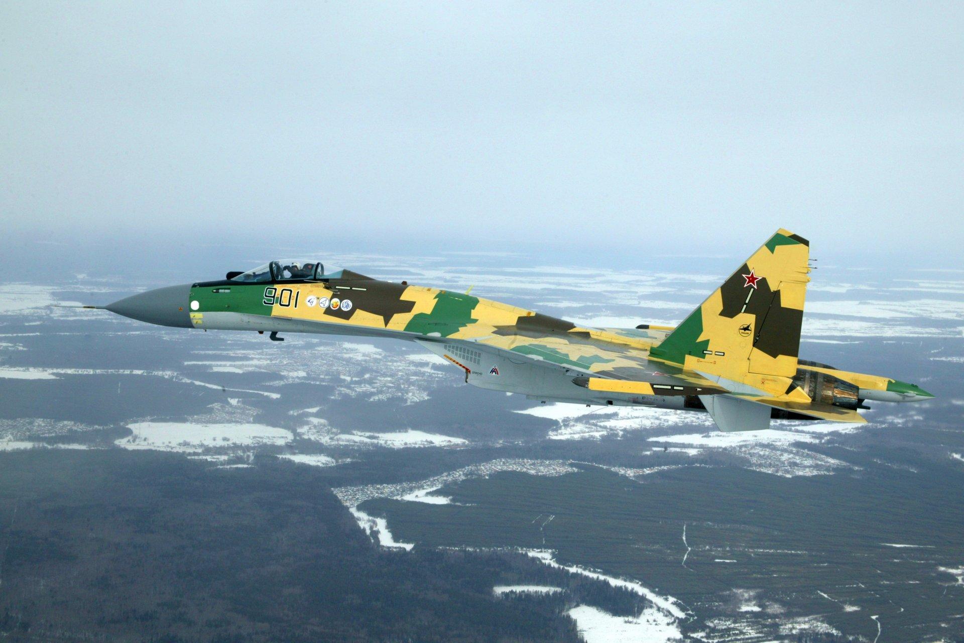 Обои сверхманевренный, Самолёт, многоцелевой, Su-35. Авиация foto 18