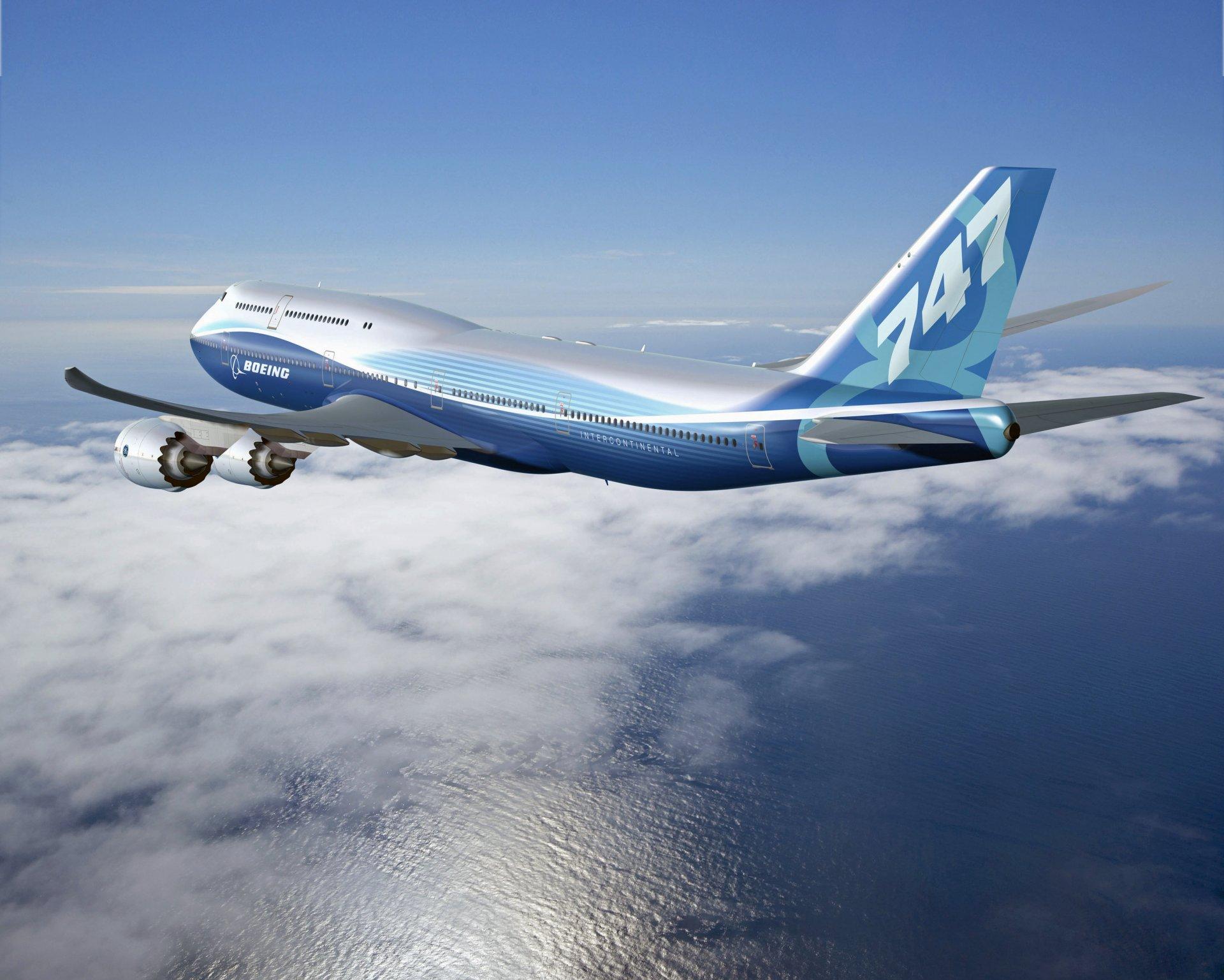 Обои Япония, ночь, Самолёт, Боинг 747. Авиация foto 11