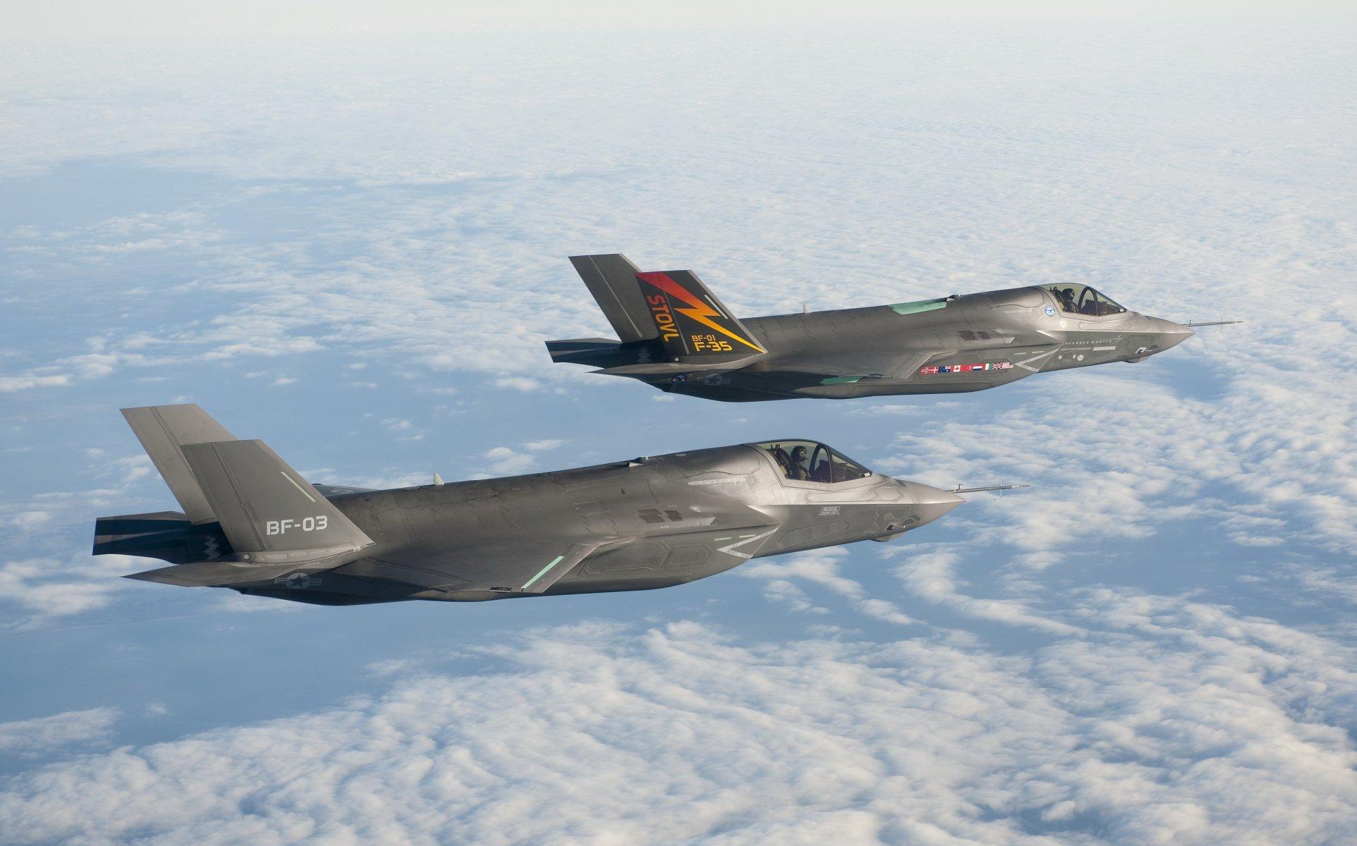 Обои F-35, Самолет 5 поколения, истребитель пятого поколения. Авиация foto 9