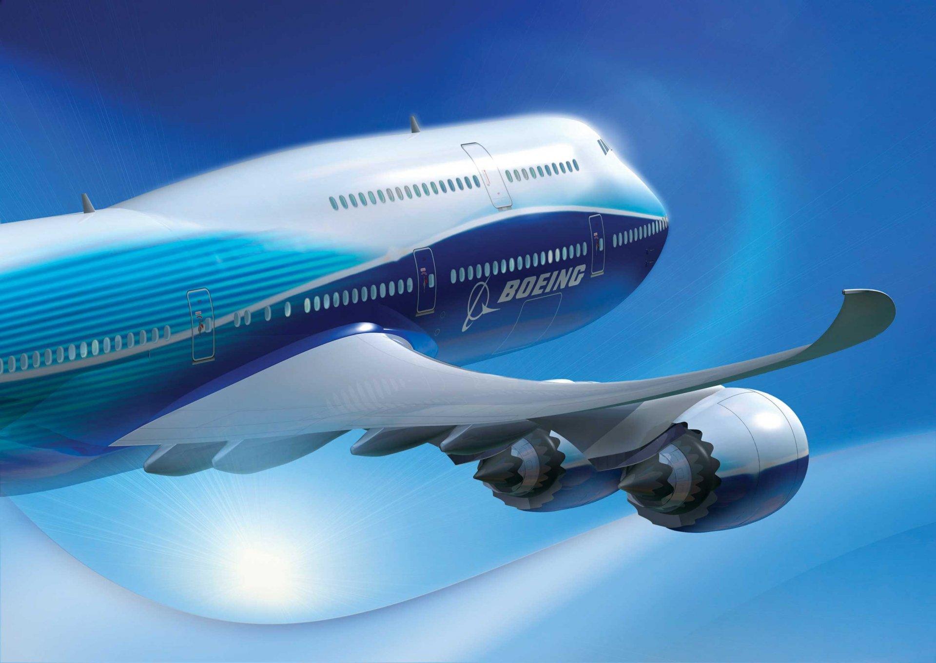 Обои 8, Самолёт, люфтганза, Lufthansa, 747, boeing, боинг, пассажирский. Авиация foto 11