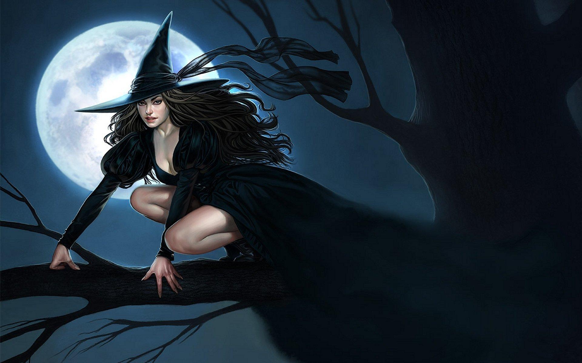 Обои ведьмочка. Разное foto 14