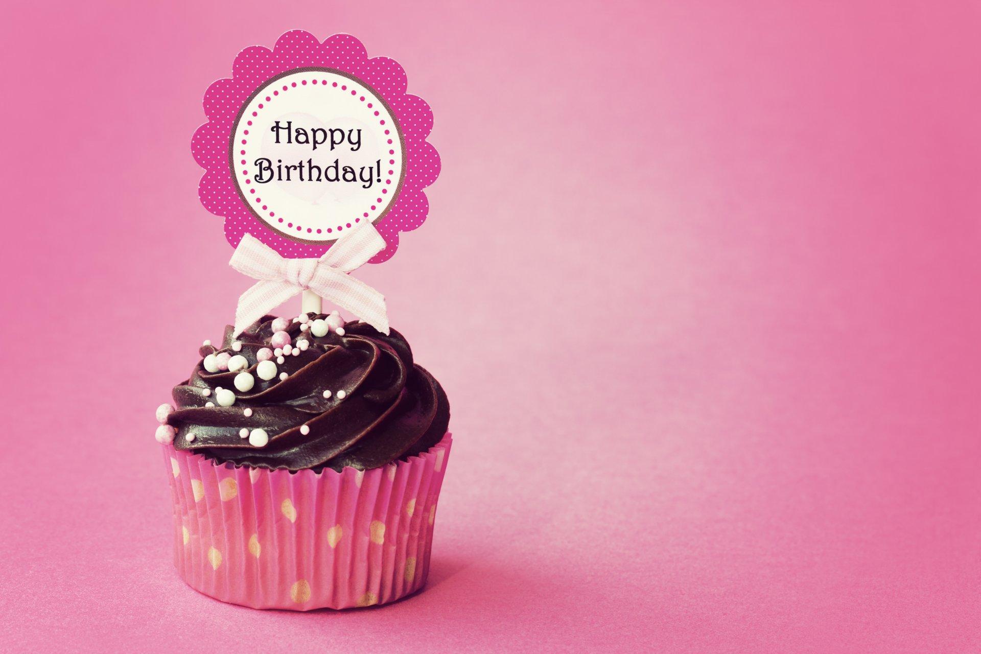 Открытки с днем рождения кексик, картинки