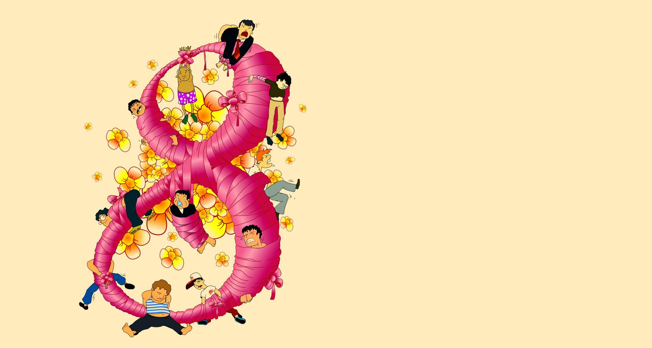 Открытки лисенок, красивый фон на 8 марта к открытке