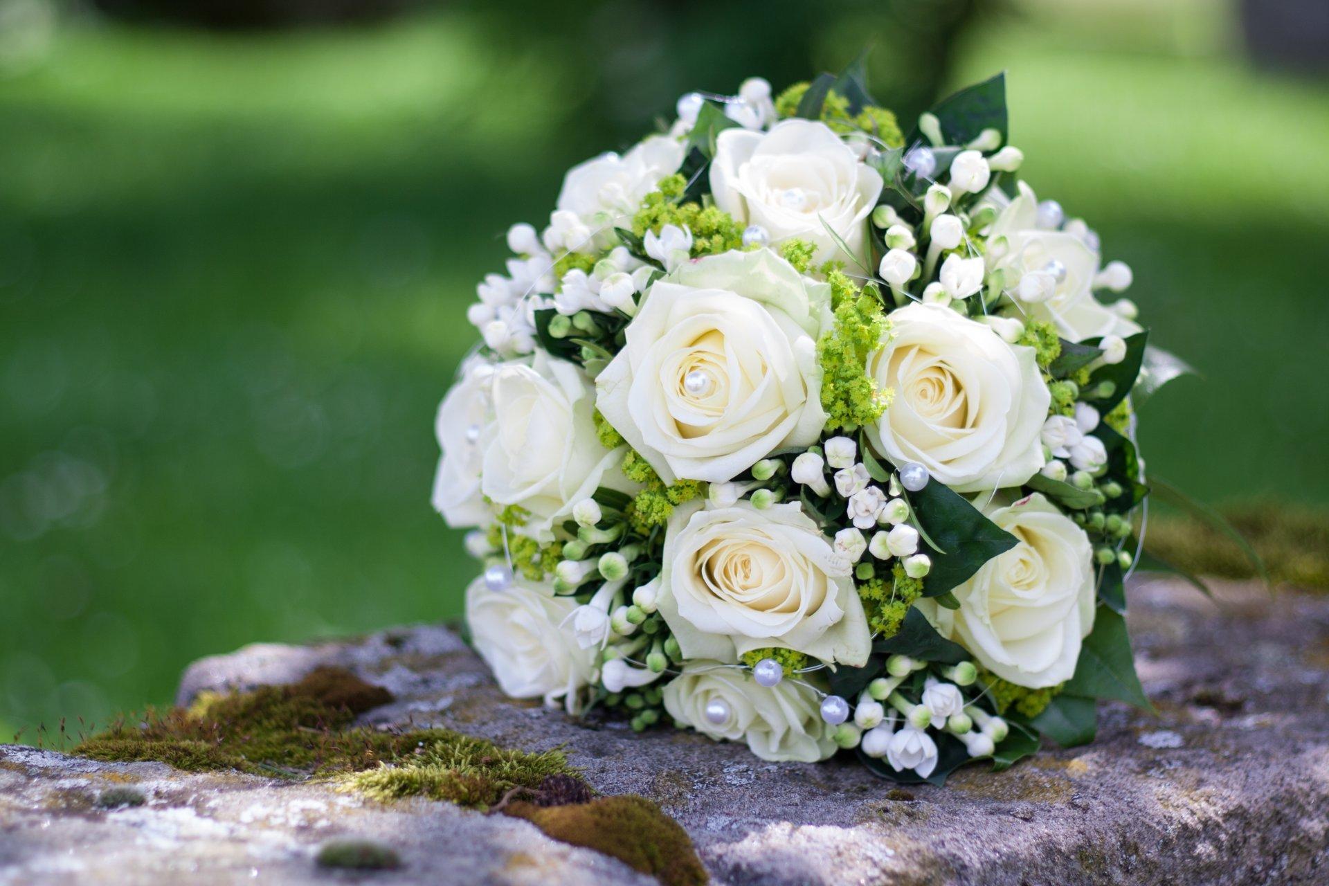 Цветов, шикарные белых свадебные букеты фото