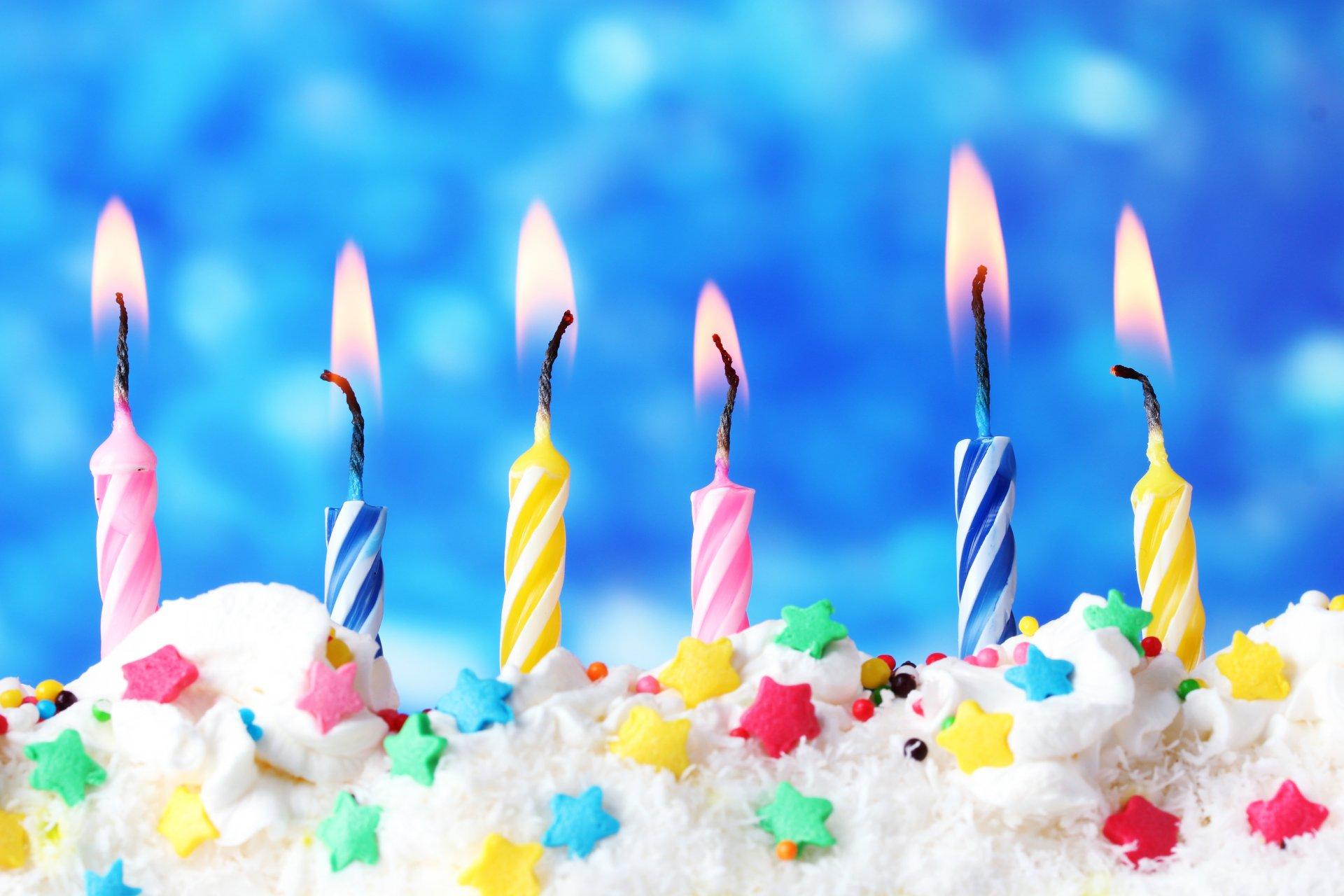 Для, открытка свечи с днем рождения