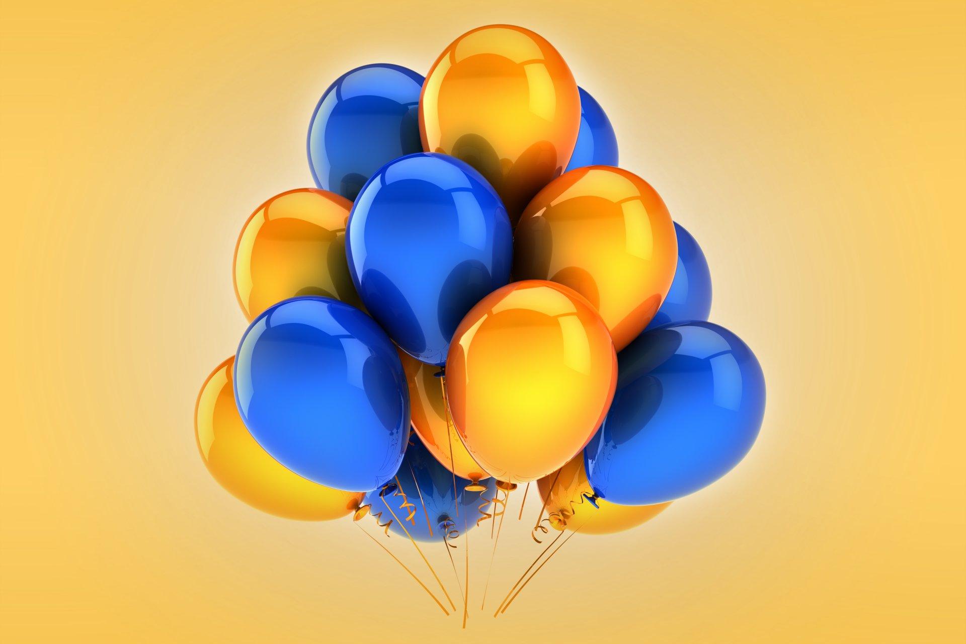 копировать синие шары с днем рождения картинки свою жизнь