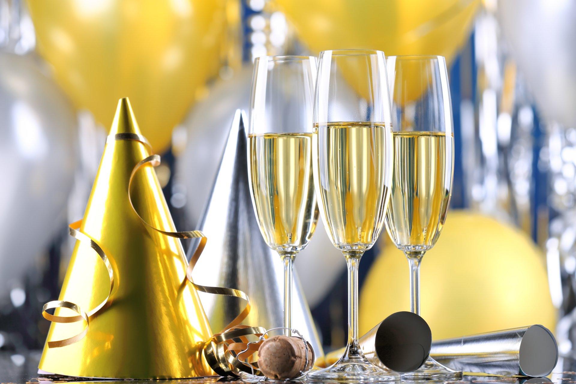 Шампанское на день рождения фото