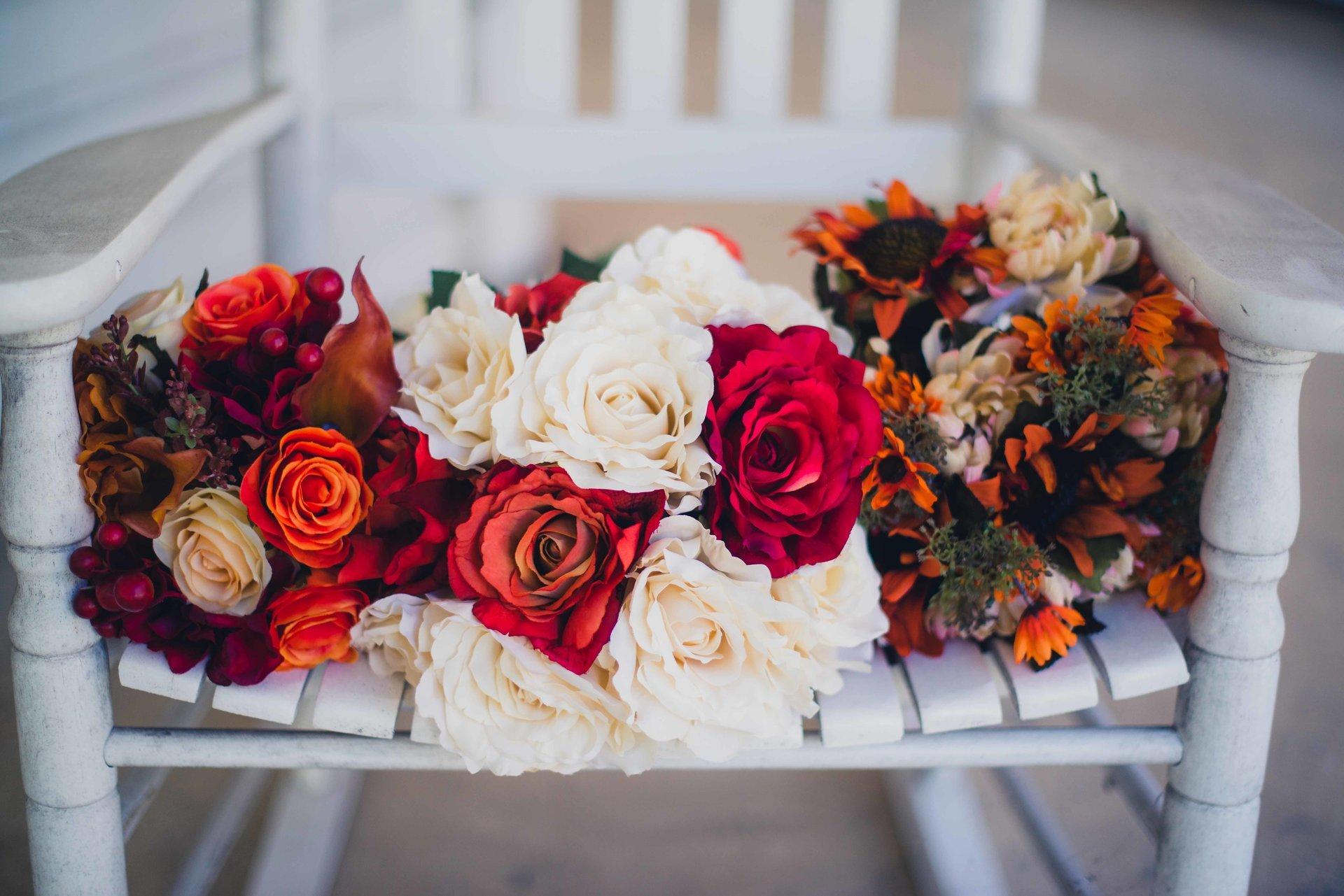 Красивые праздничные букеты на свадьбу