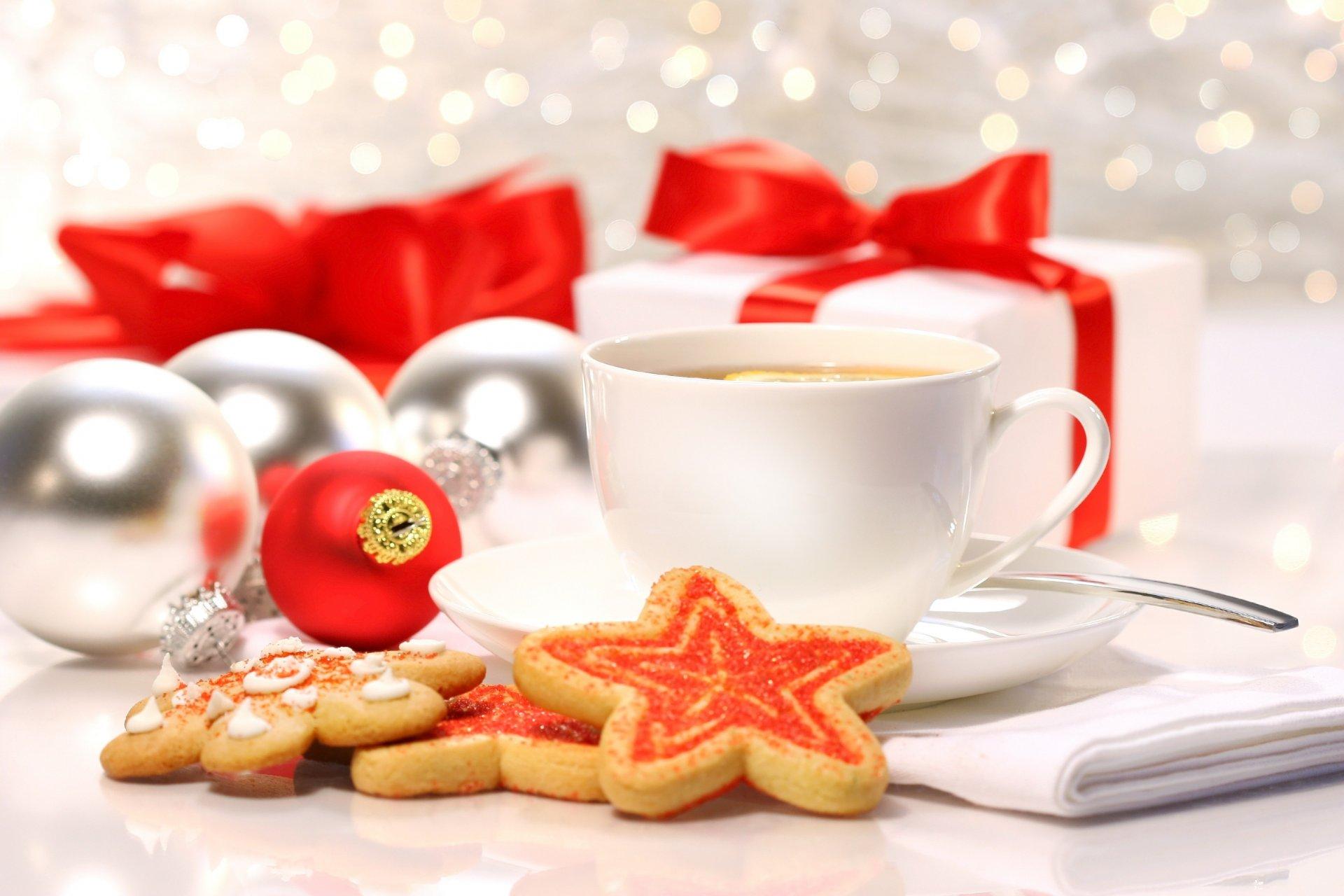 Подарок кружка с печеньем