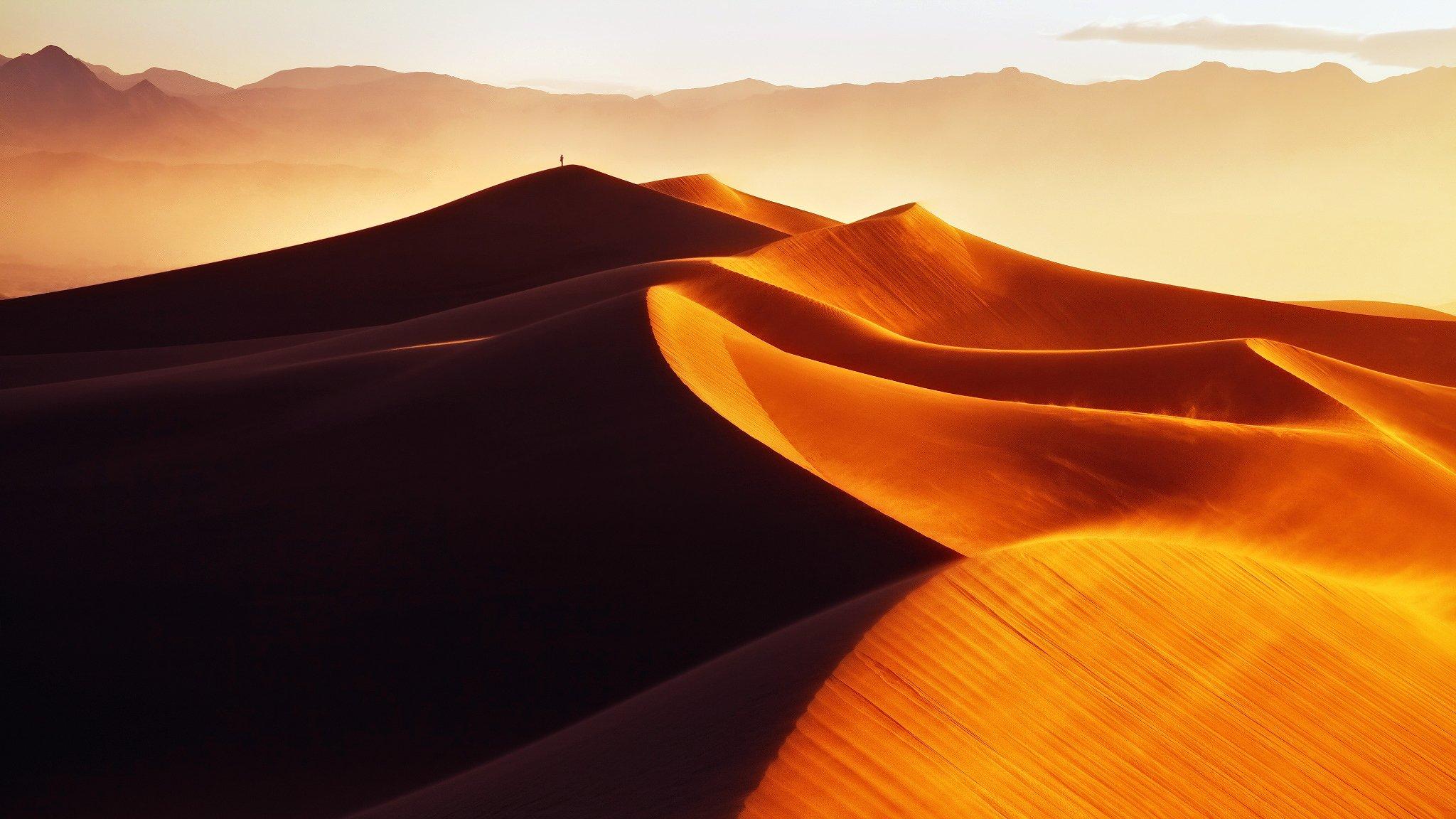 барханы пустыня дюны  № 1291883  скачать