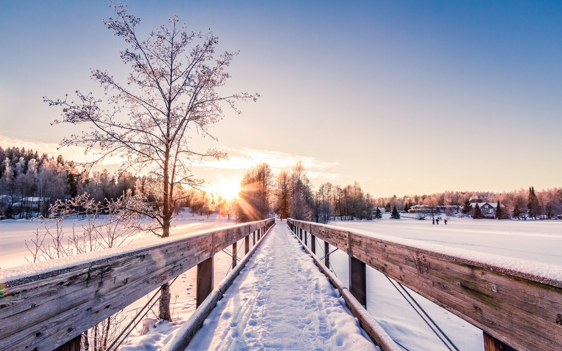 менее, зимняя мостовая картинки может быть