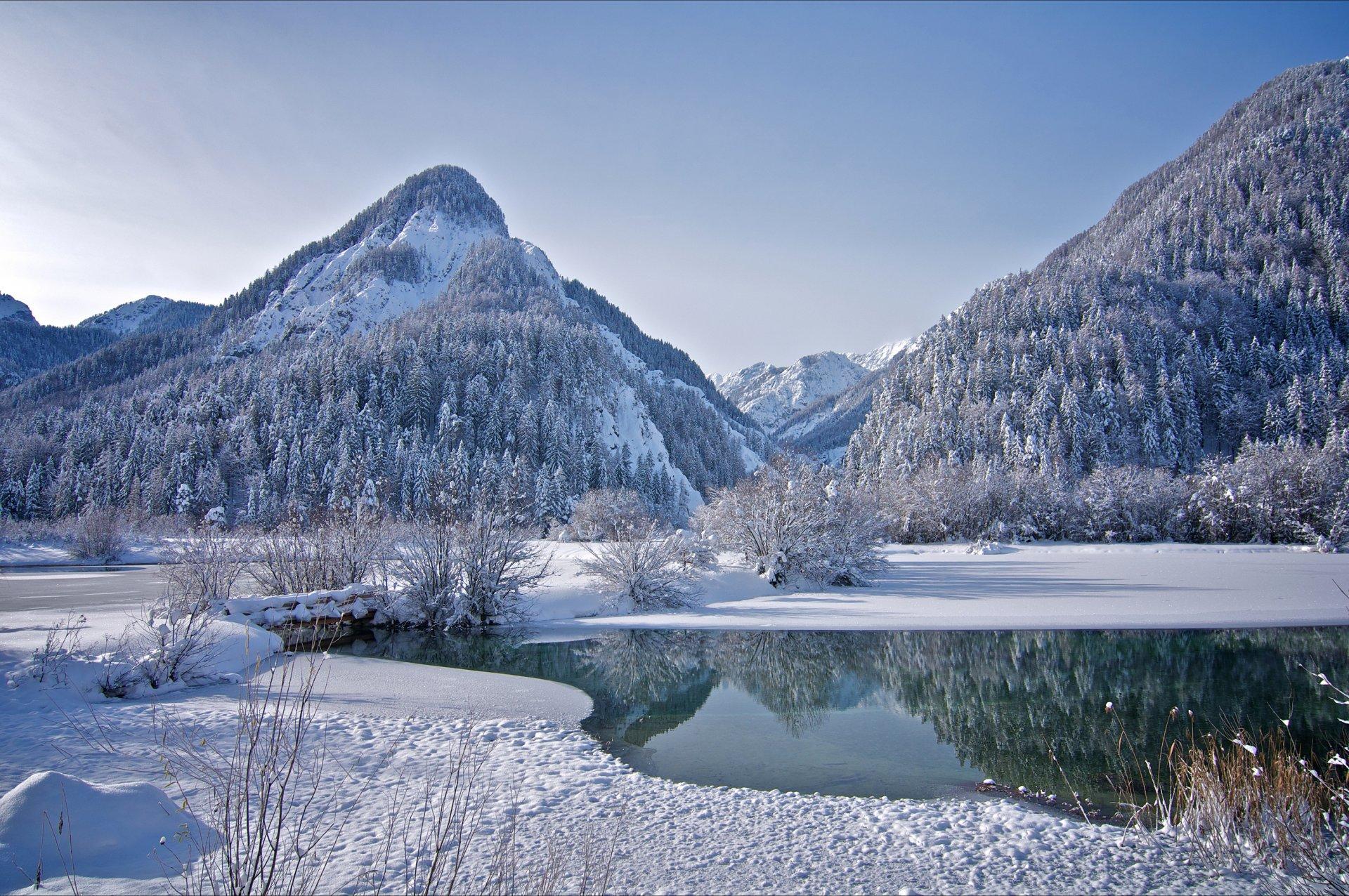горное озеро зимой фото проблему создает современная