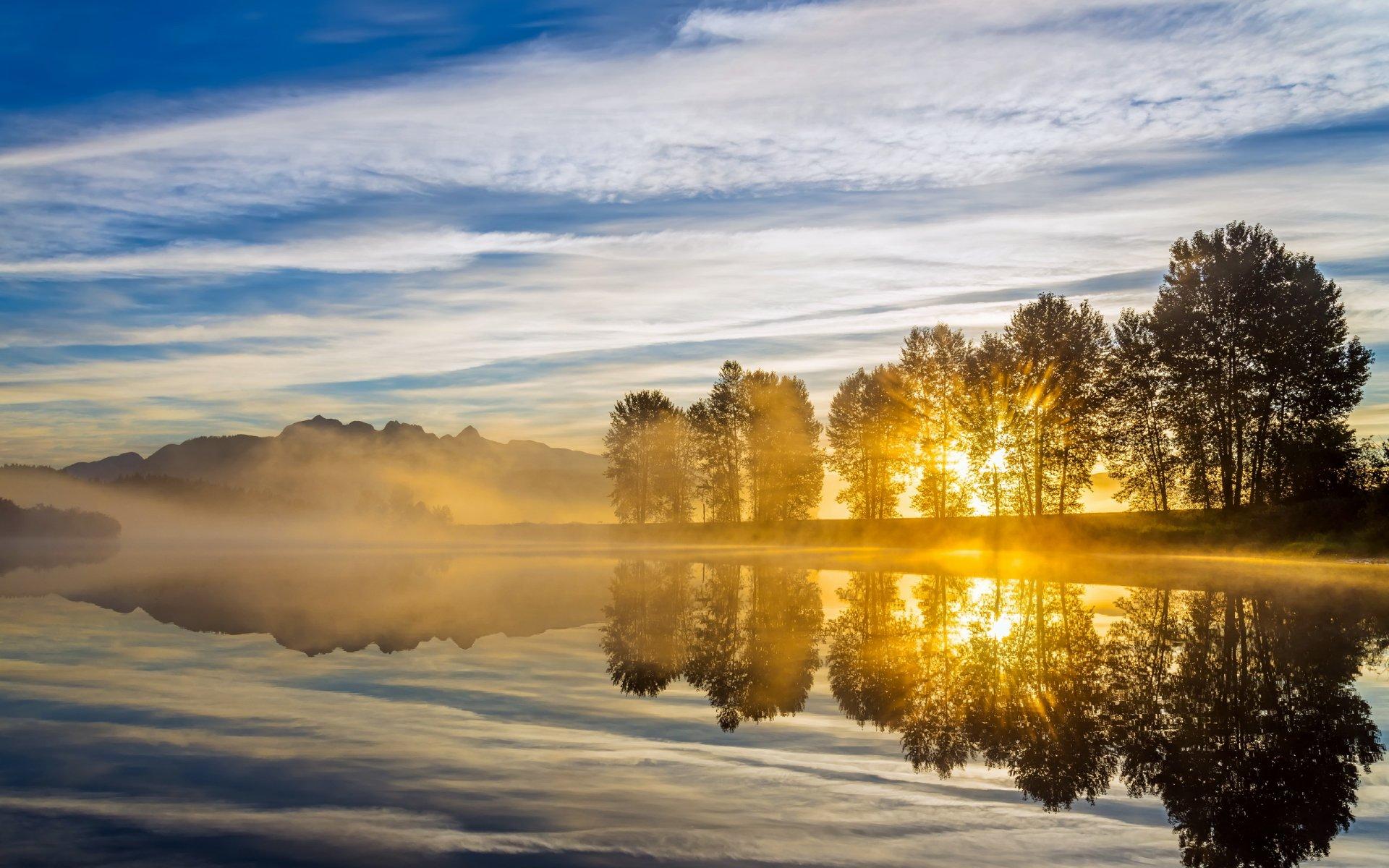 красивая утренняя фото