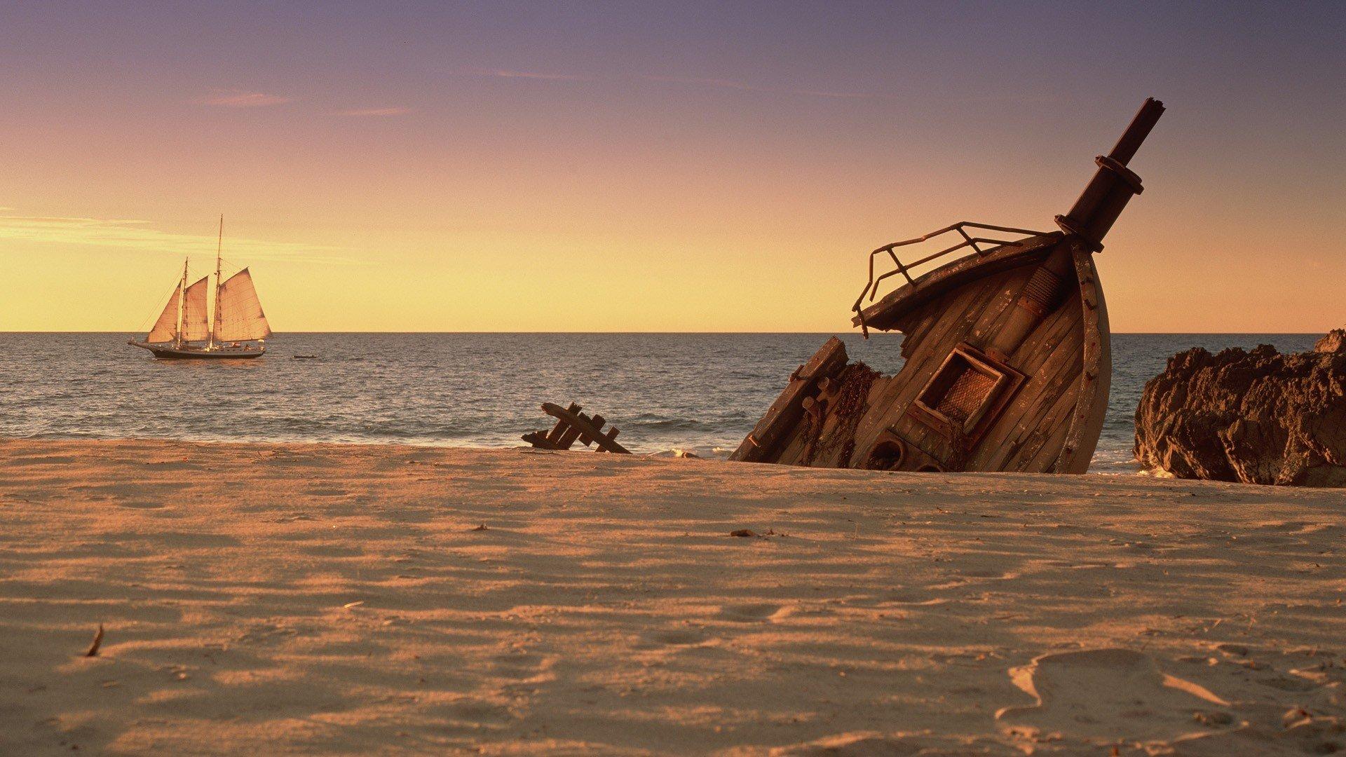 Point Reyes корабль на берегу без смс