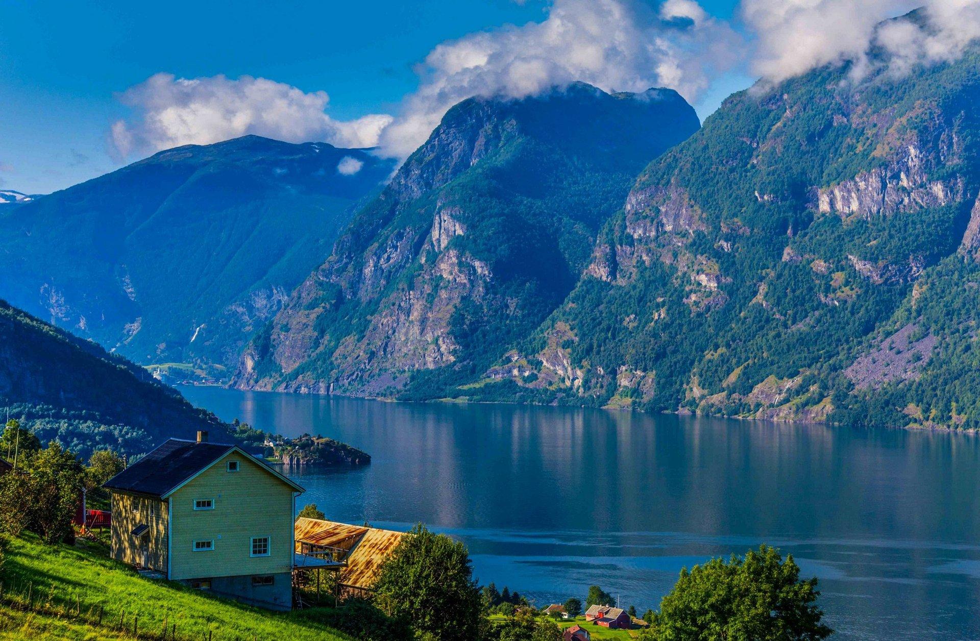 дома озеро горы без смс