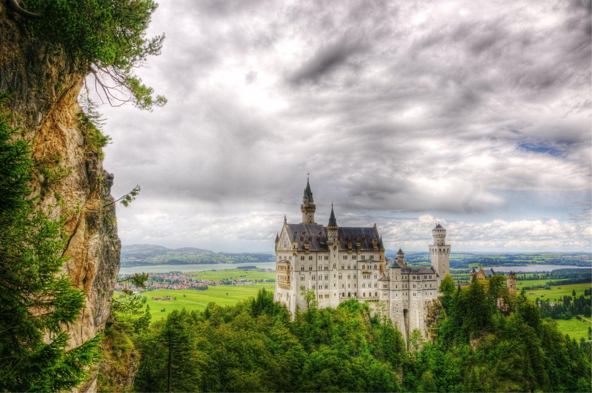 Обои юго-западная, бавария, германия, замок. Города foto 11