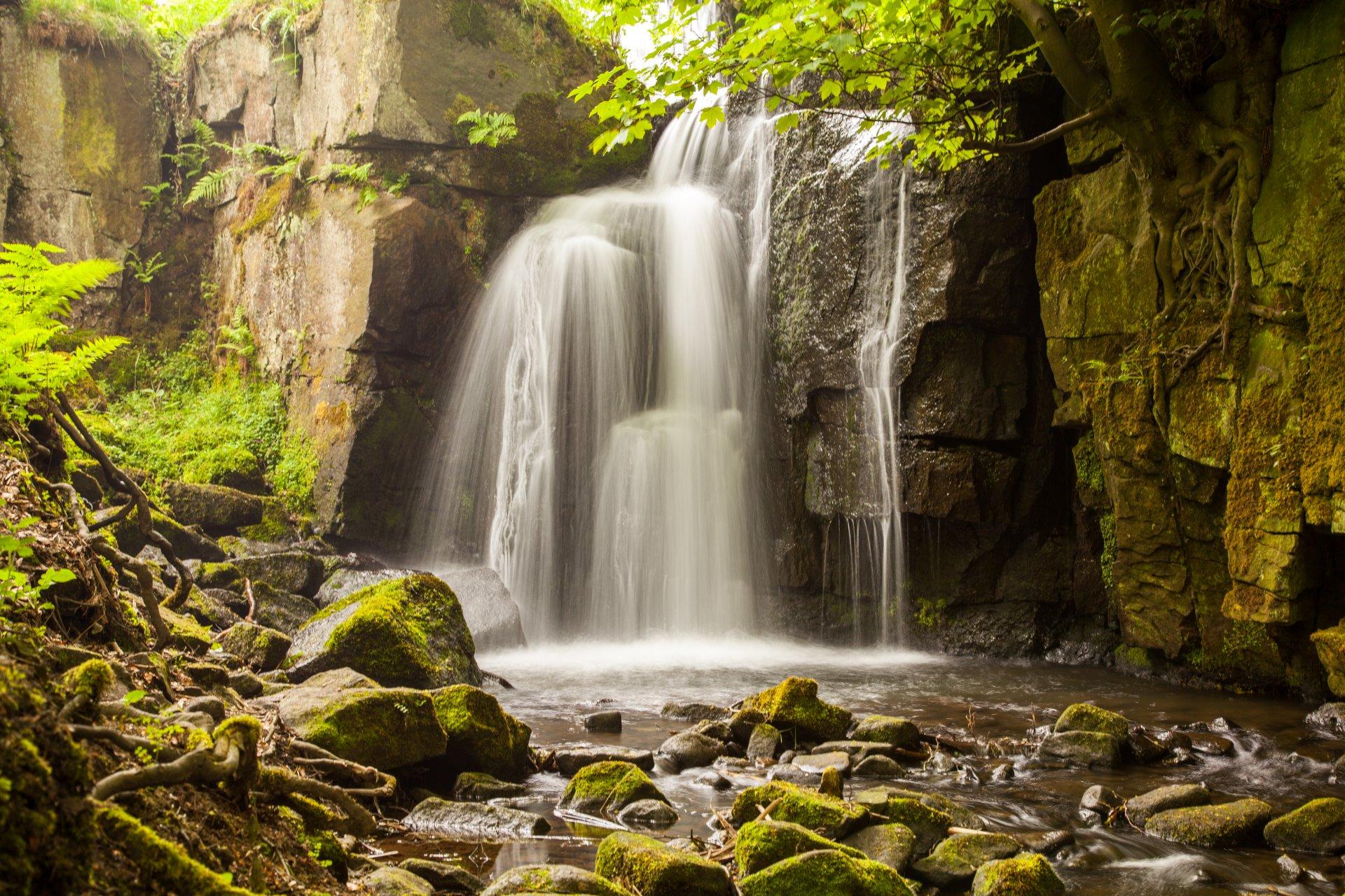 Водопады картинки красивые на телефон