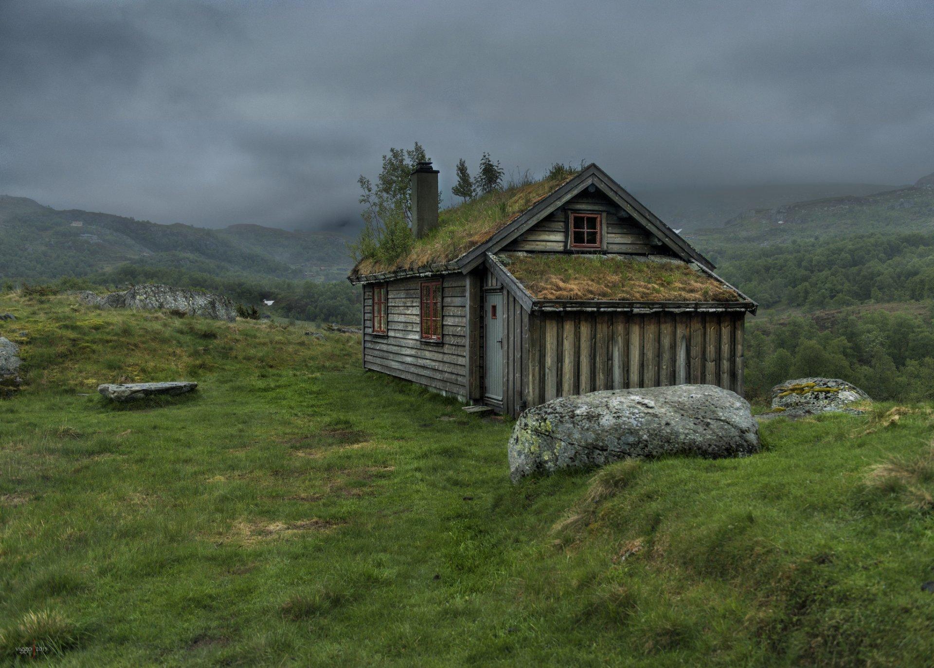 Обои Норвегия, деревянная, церковь. Разное foto 11