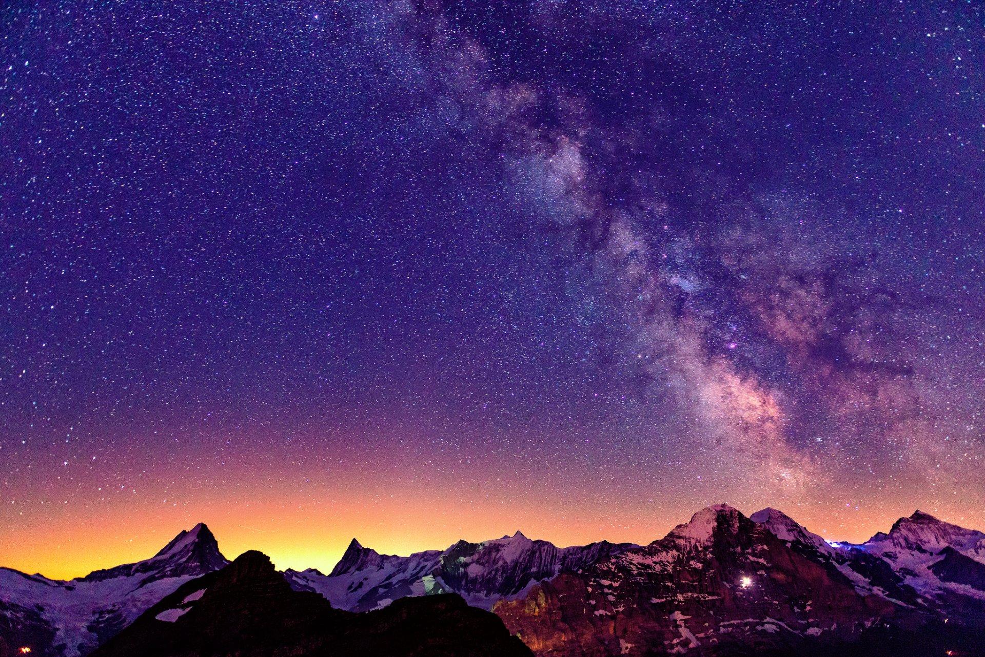Горы небо звезды загрузить