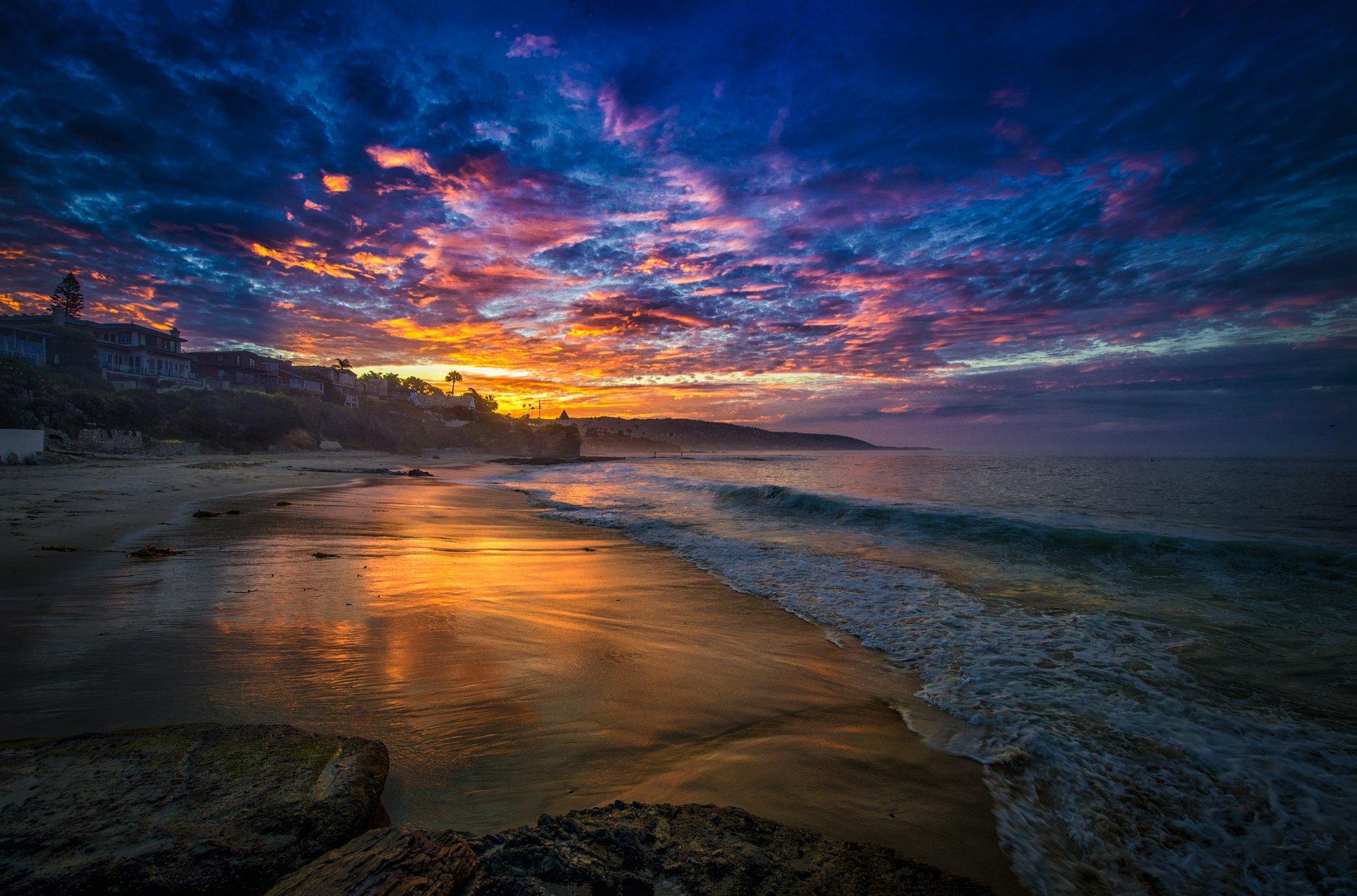 вечерний пейзаж на море картинки рекомендации
