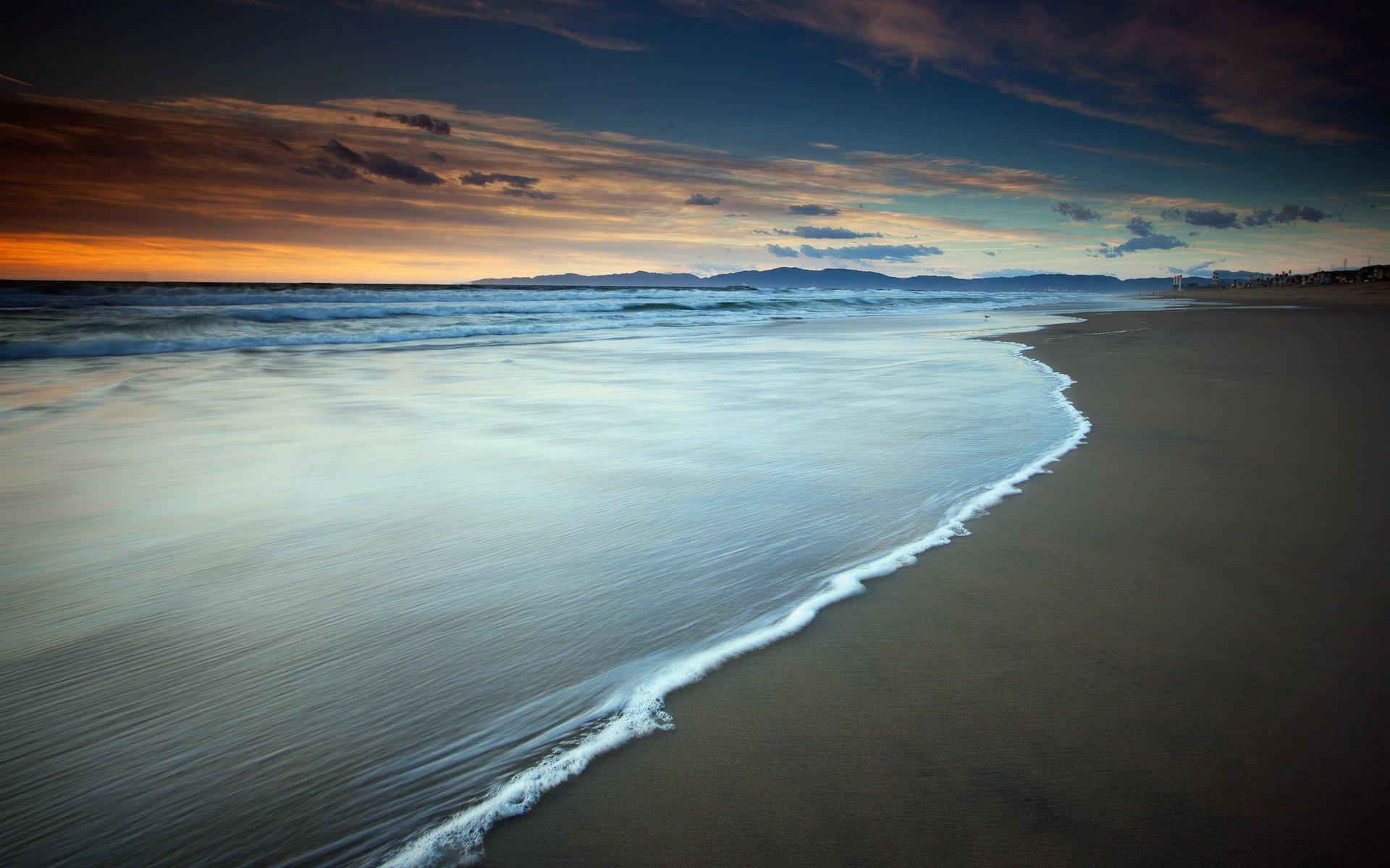 Море закат волна  № 3891475 бесплатно