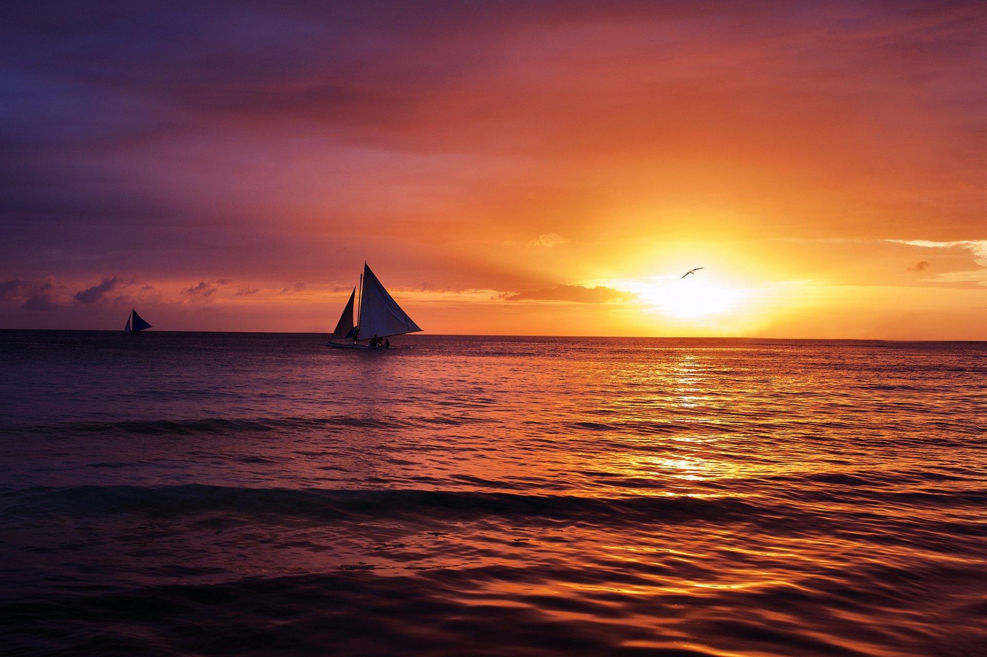 Открытки закат солнца на море, надписью