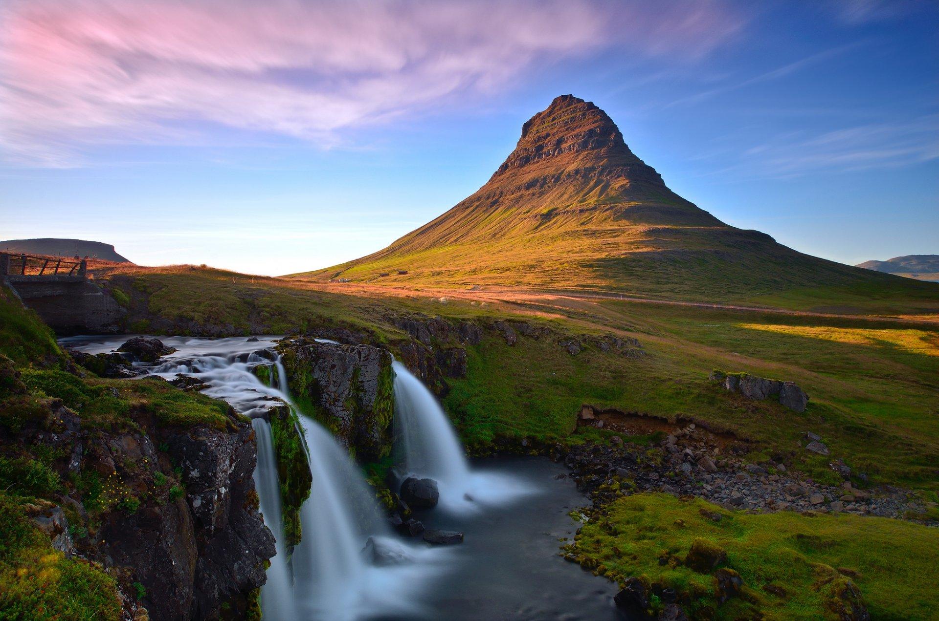 стоит обои на рабочий исландия если