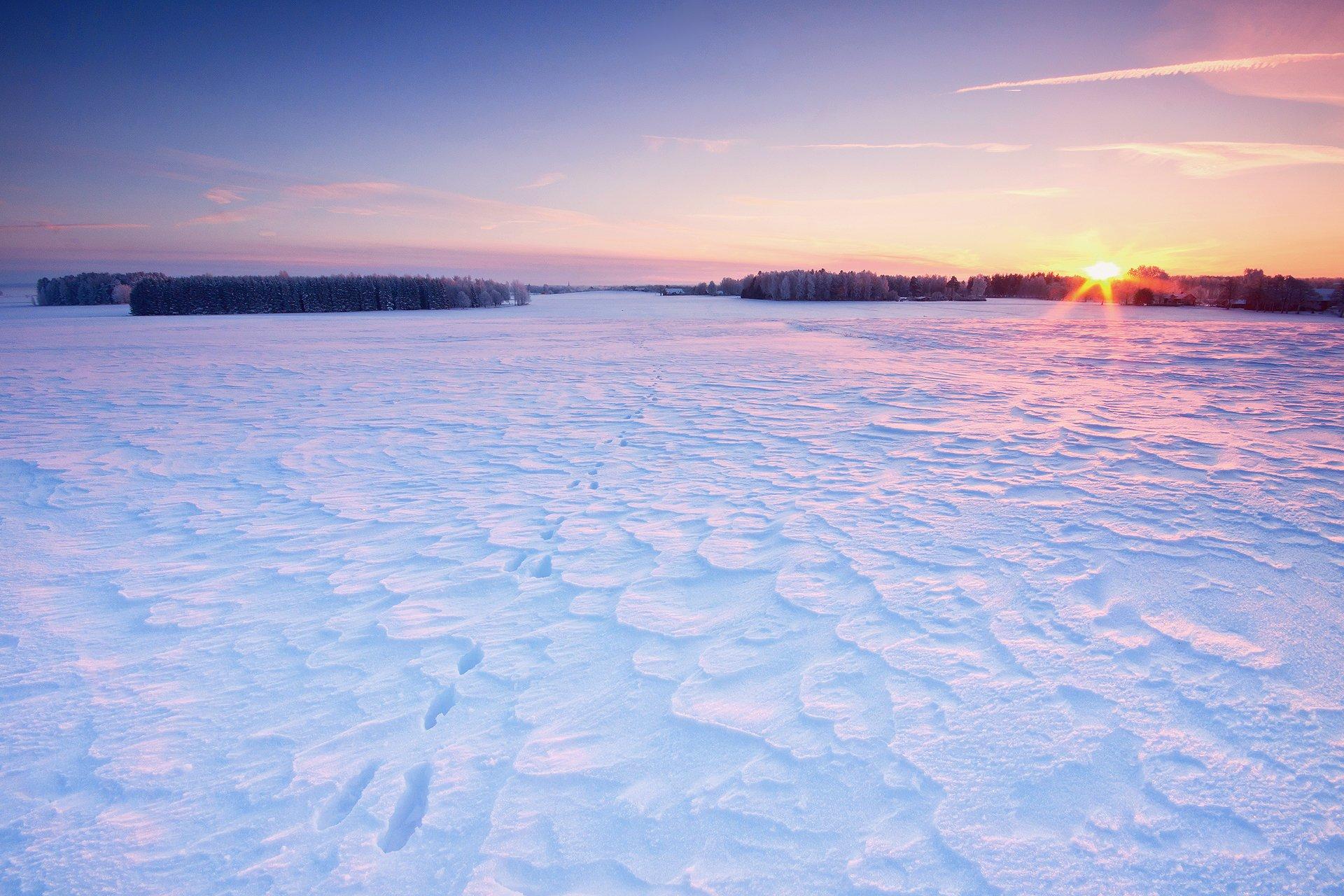 картинки на рабочий стол небо солнце снег деревень чтобы вспомню