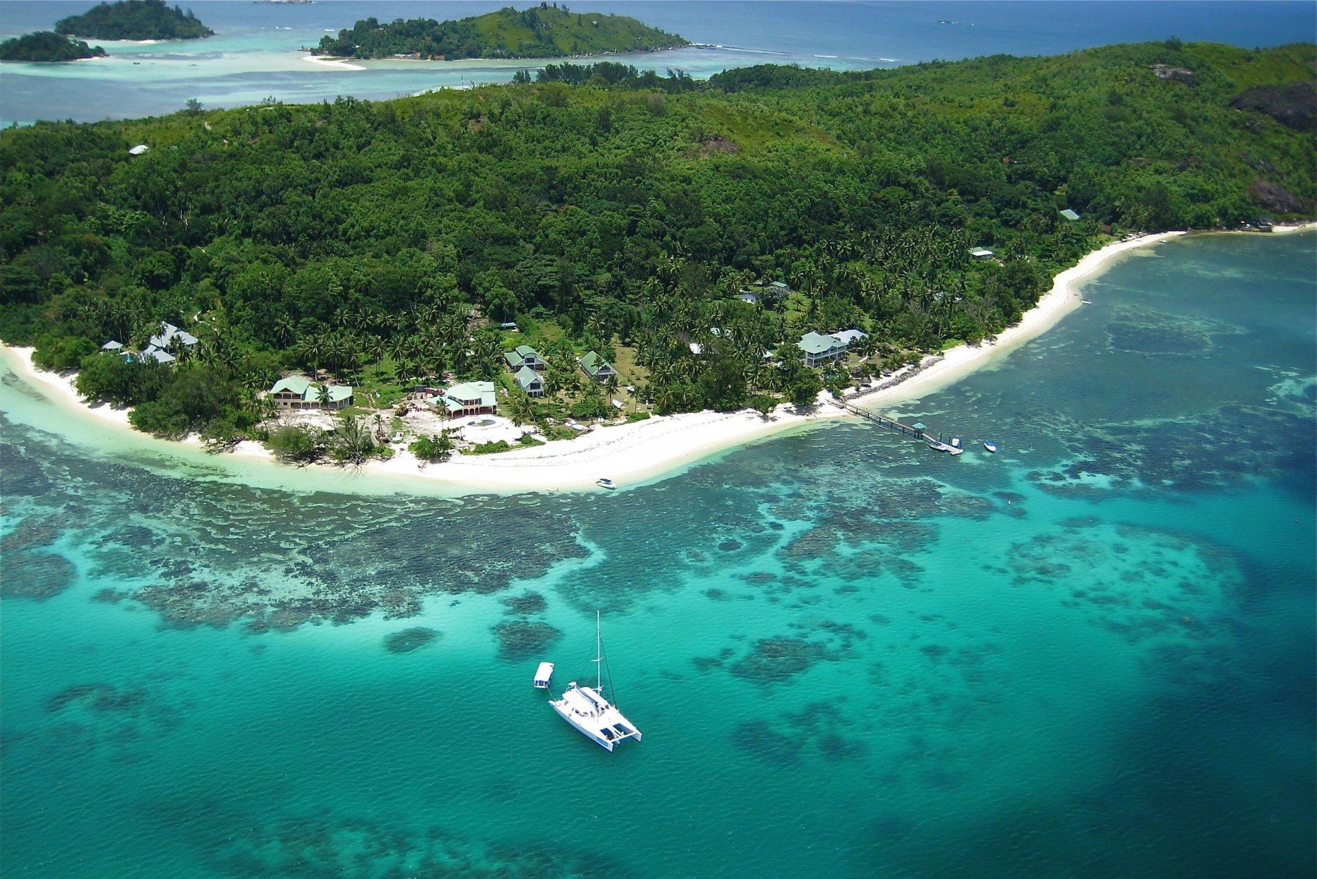 данному фото сейшельских островов на рабочий стол опор шпалеры