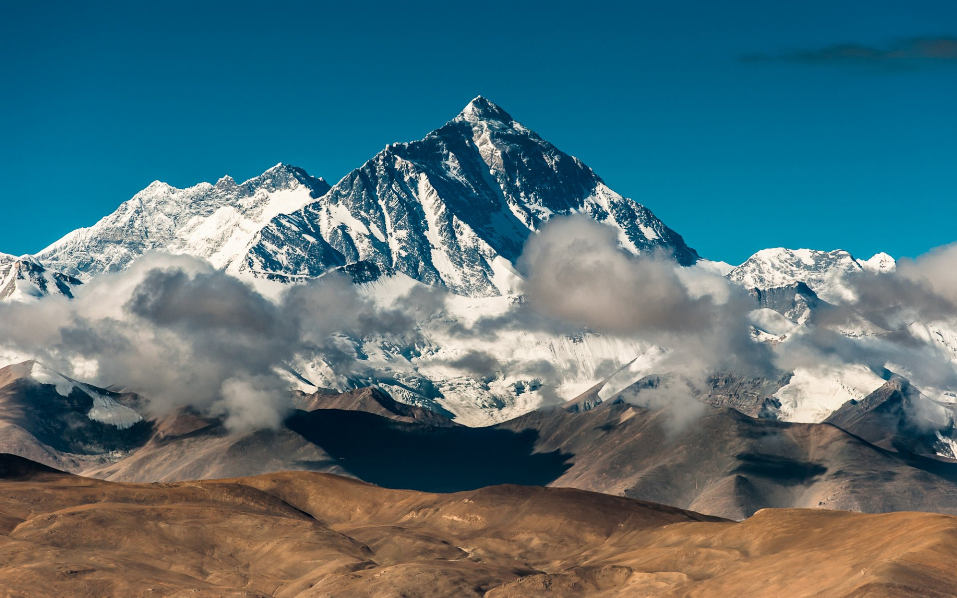 Обои высокие горы