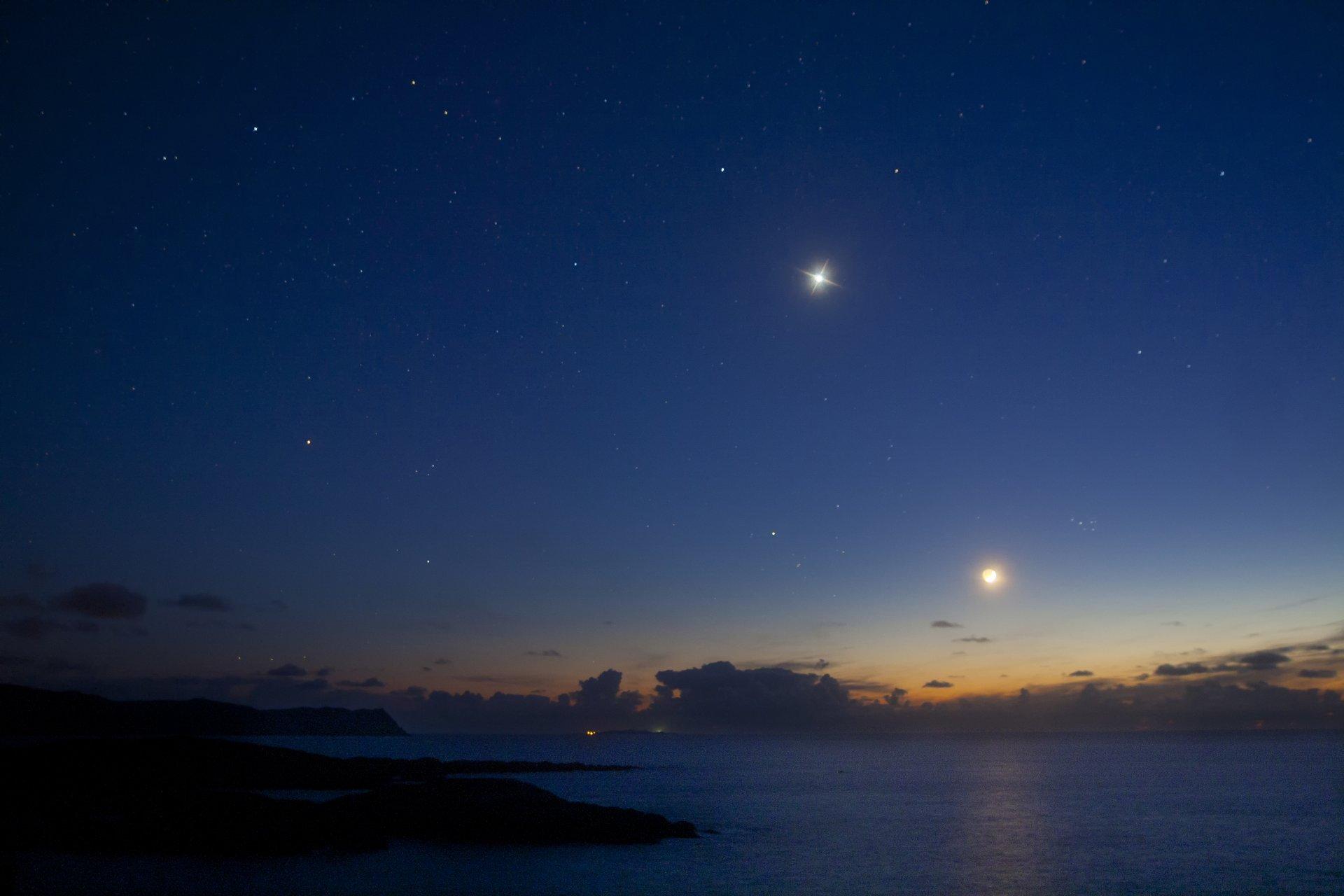 принадлежностью луна на звездном небе фото высокого разрешения время бесконечная, скромная