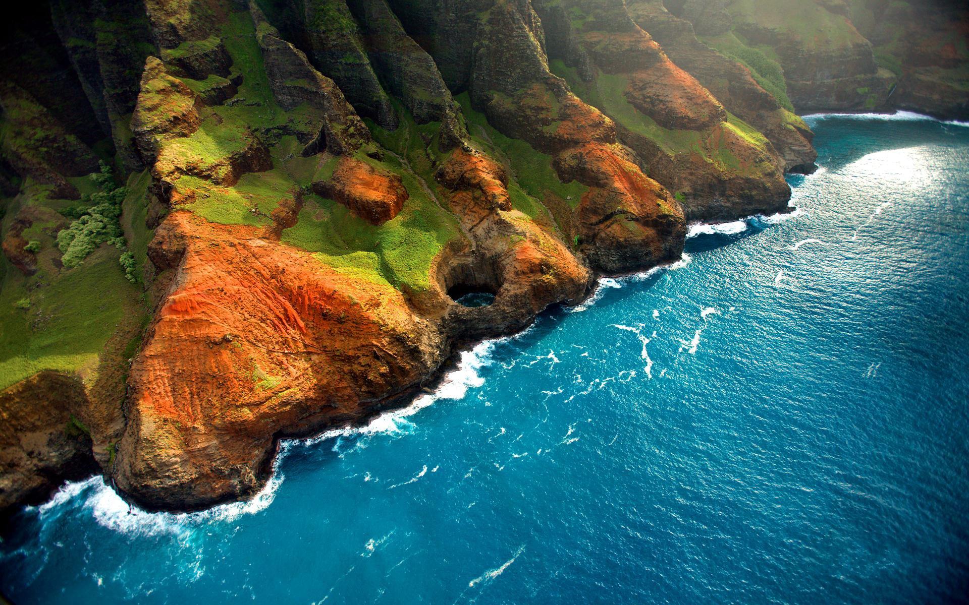 природа море горы скалы дома nature sea mountains rock home  № 425220  скачать