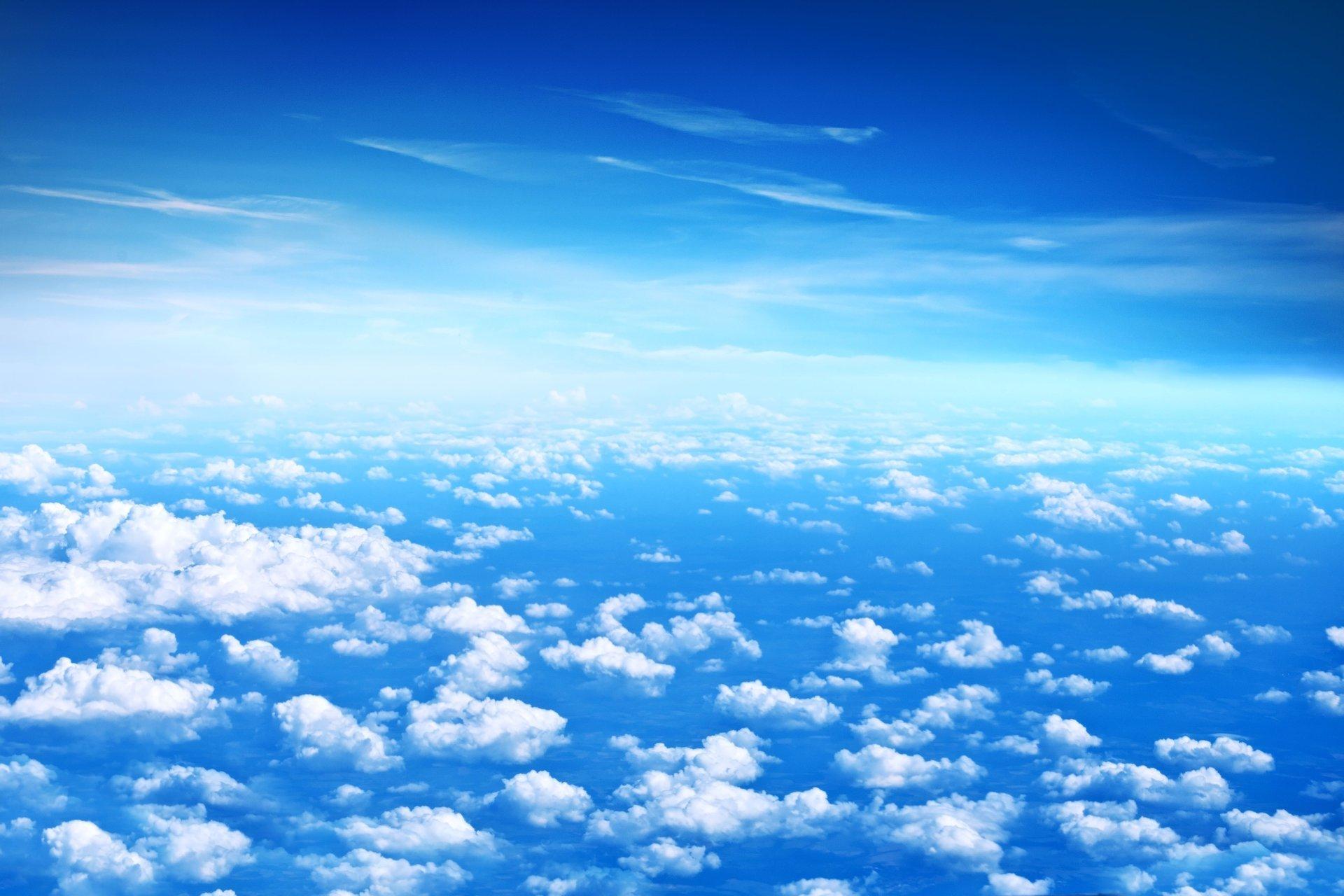 Обои Облака, красиво, ночь, высота. Авиация foto 16