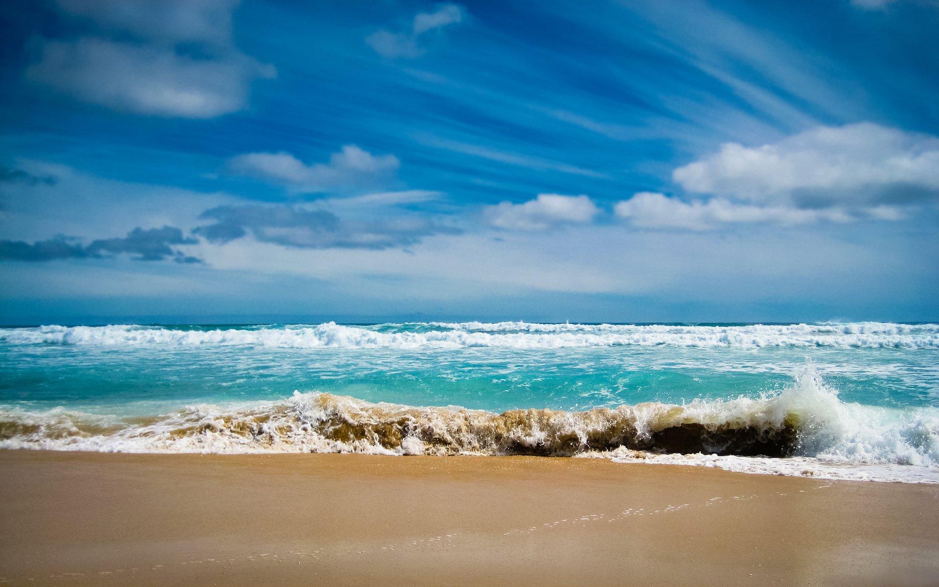 Обои волны. Пейзажи foto 12
